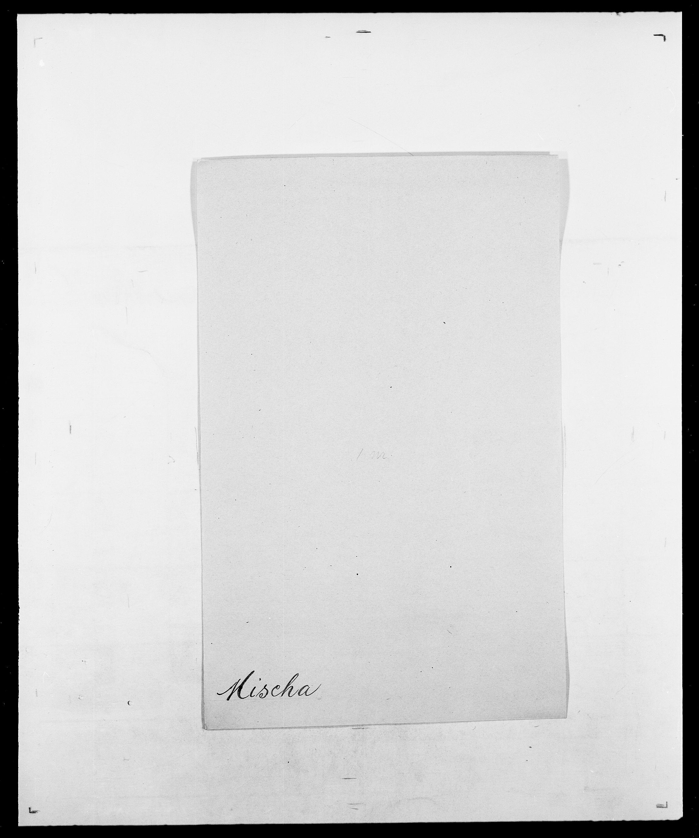 SAO, Delgobe, Charles Antoine - samling, D/Da/L0026: Mechelby - Montoppidan, s. 598