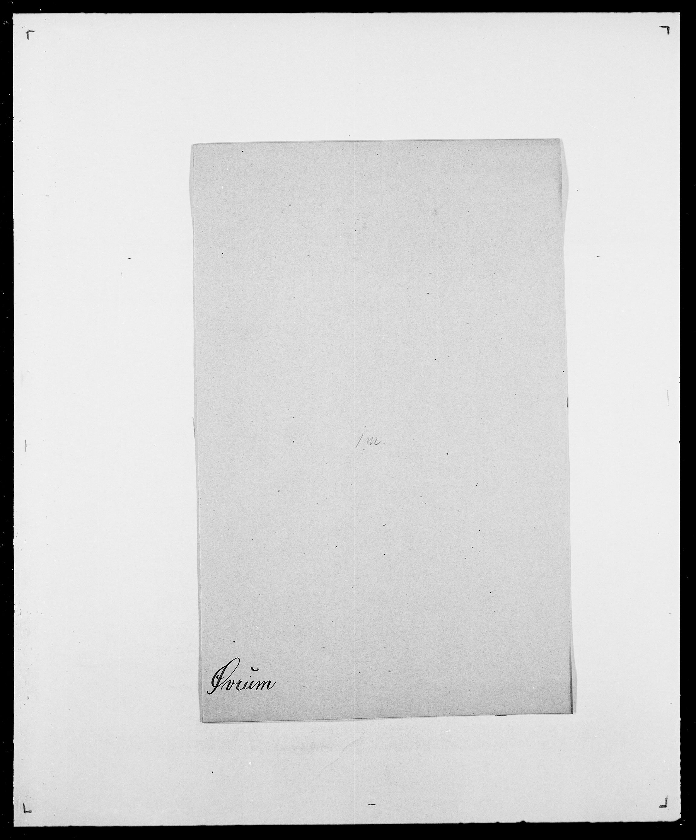 SAO, Delgobe, Charles Antoine - samling, D/Da/L0043: Wulfsberg - v. Zanten, s. 418