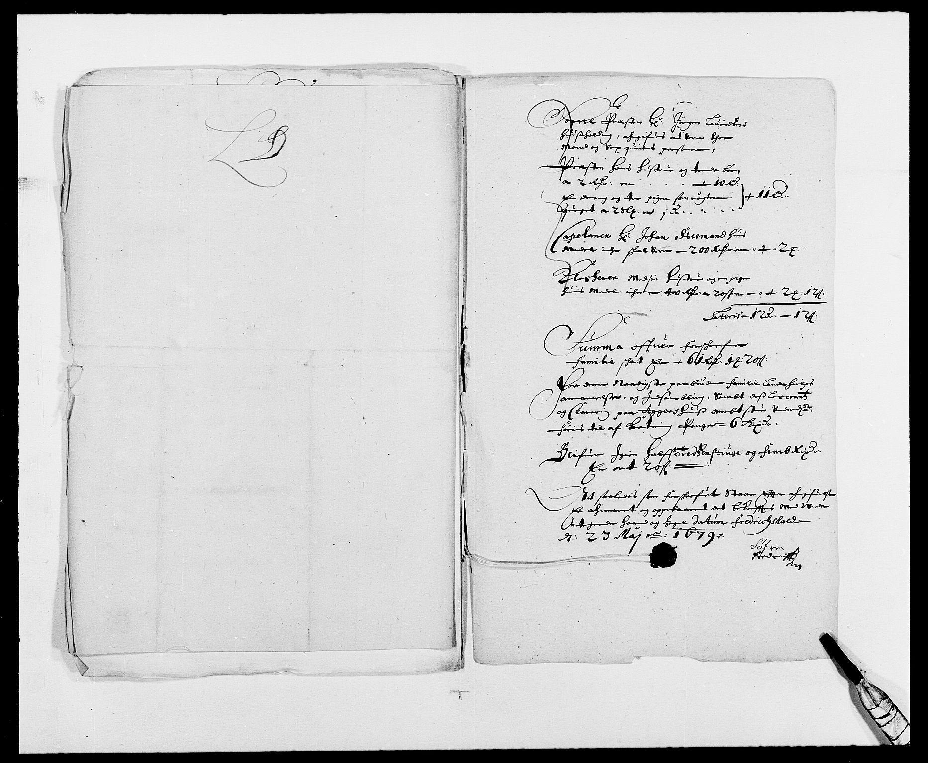 RA, Rentekammeret inntil 1814, Reviderte regnskaper, Fogderegnskap, R01/L0001: Fogderegnskap Idd og Marker, 1678-1679, s. 229