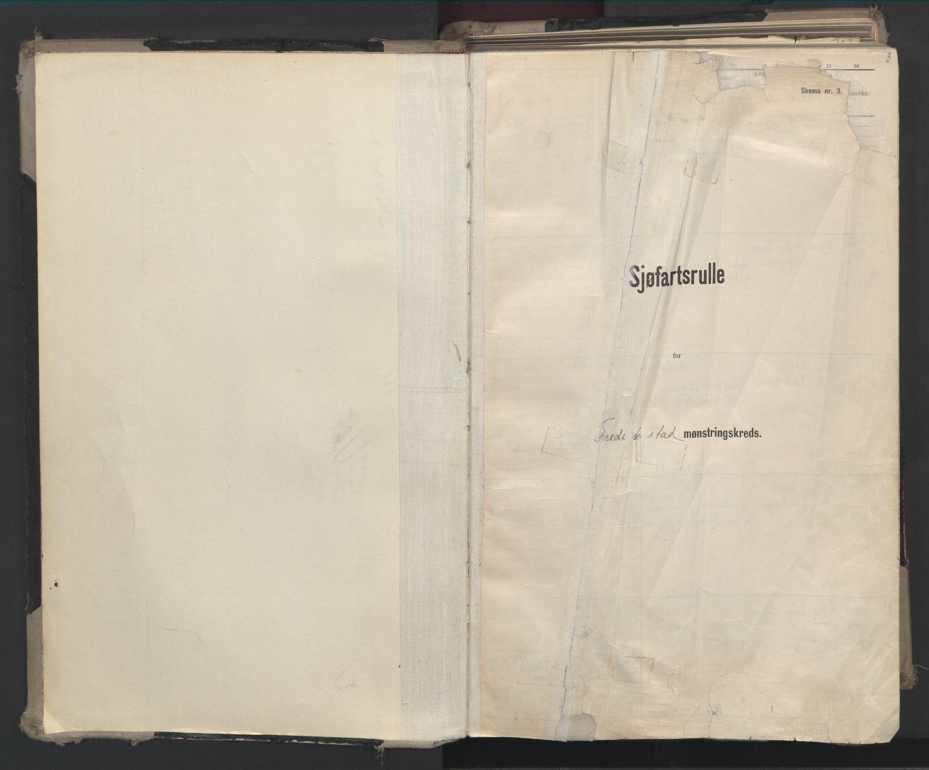SAO, Oslo sjømannskontor, F/Fd/L0008: B-rulle, 1914, s. 1