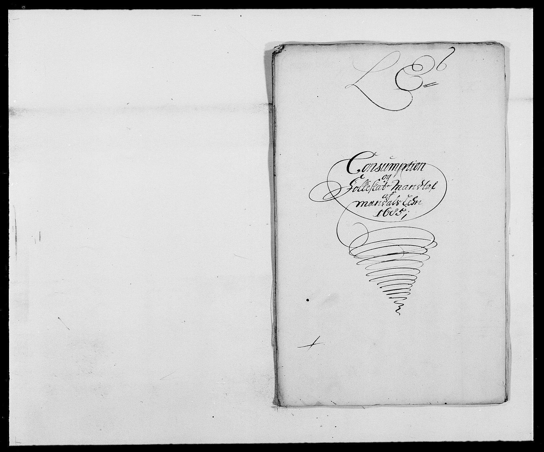 RA, Rentekammeret inntil 1814, Reviderte regnskaper, Fogderegnskap, R42/L2542: Mandal fogderi, 1685-1687, s. 78