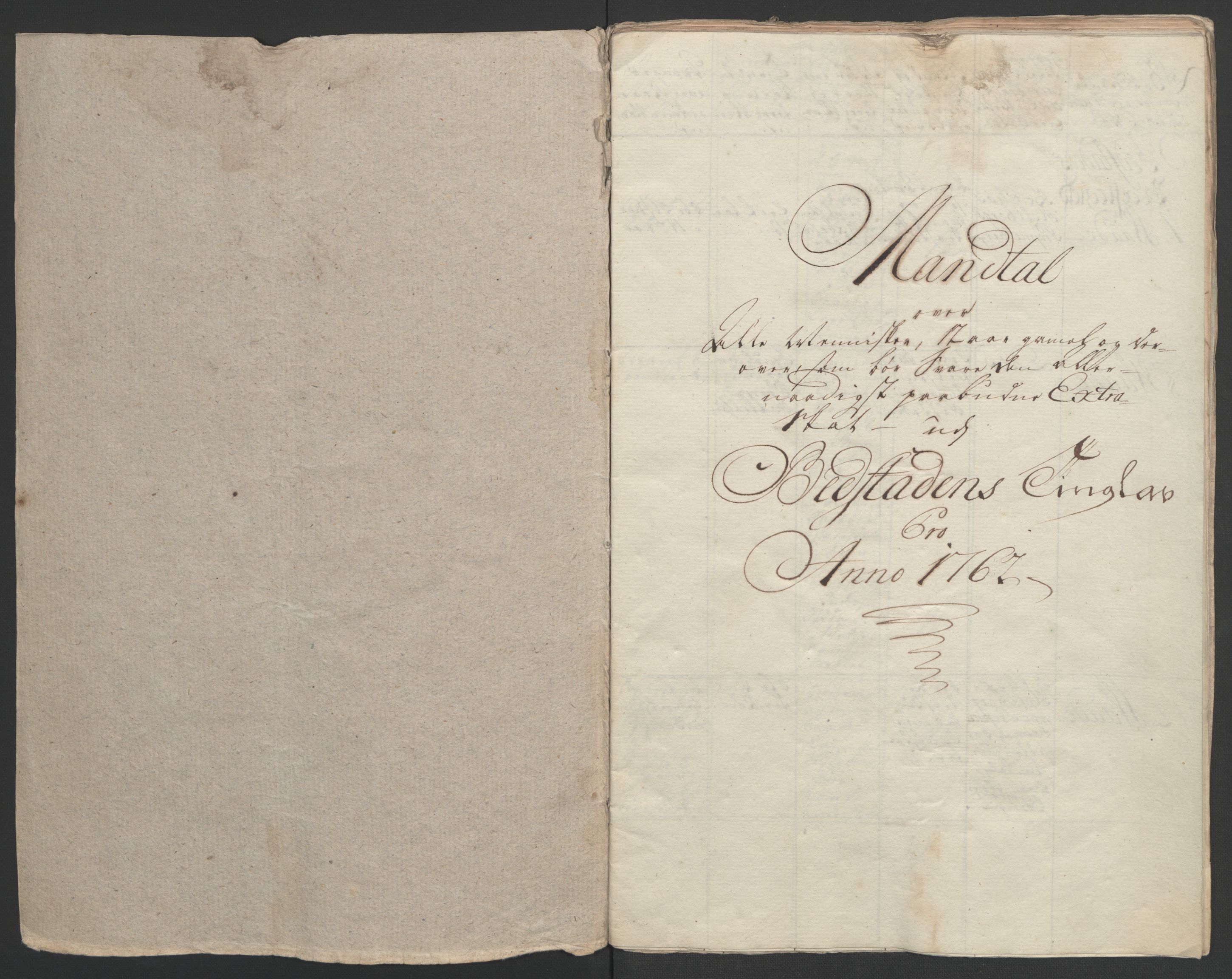 RA, Rentekammeret inntil 1814, Realistisk ordnet avdeling, Ol/L0020: [Gg 10]: Ekstraskatten, 23.09.1762. Romsdal, Strinda, Selbu, Inderøy., 1762-1764, s. 65