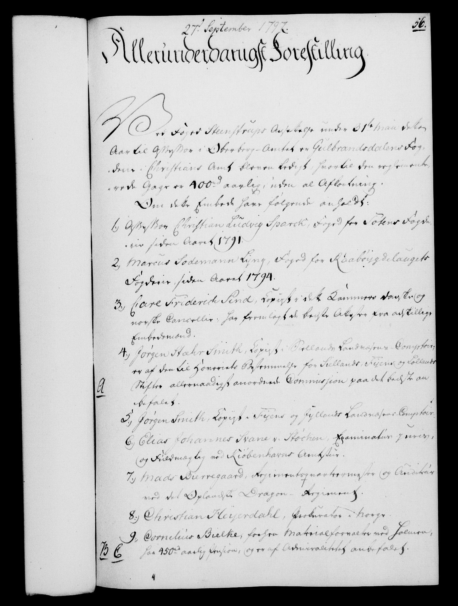 RA, Rentekammeret, Kammerkanselliet, G/Gf/Gfa/L0079: Norsk relasjons- og resolusjonsprotokoll (merket RK 52.79), 1797, s. 288