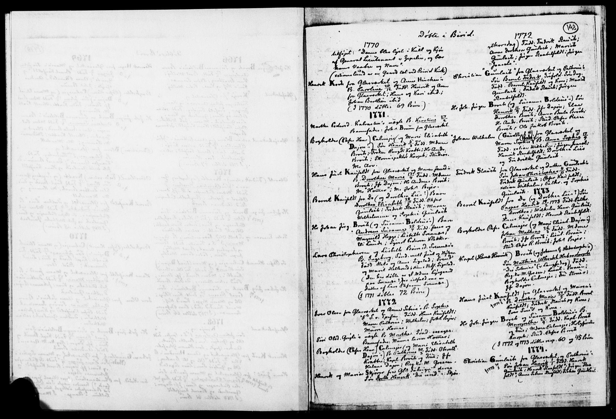 SAH, Biri prestekontor, Ministerialbok, 1730-1879, s. 148