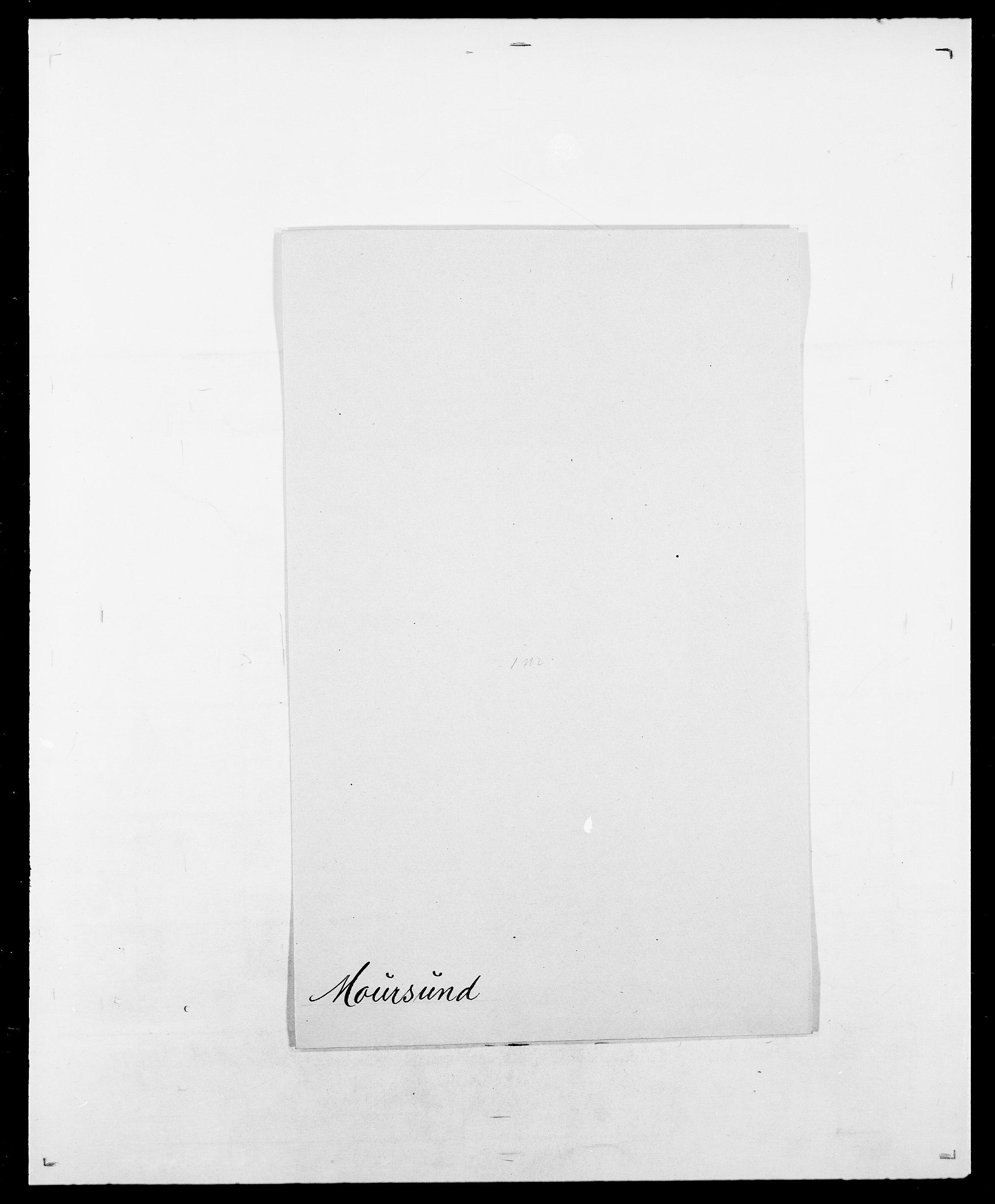 SAO, Delgobe, Charles Antoine - samling, D/Da/L0027: Morath - v. Møsting, s. 100