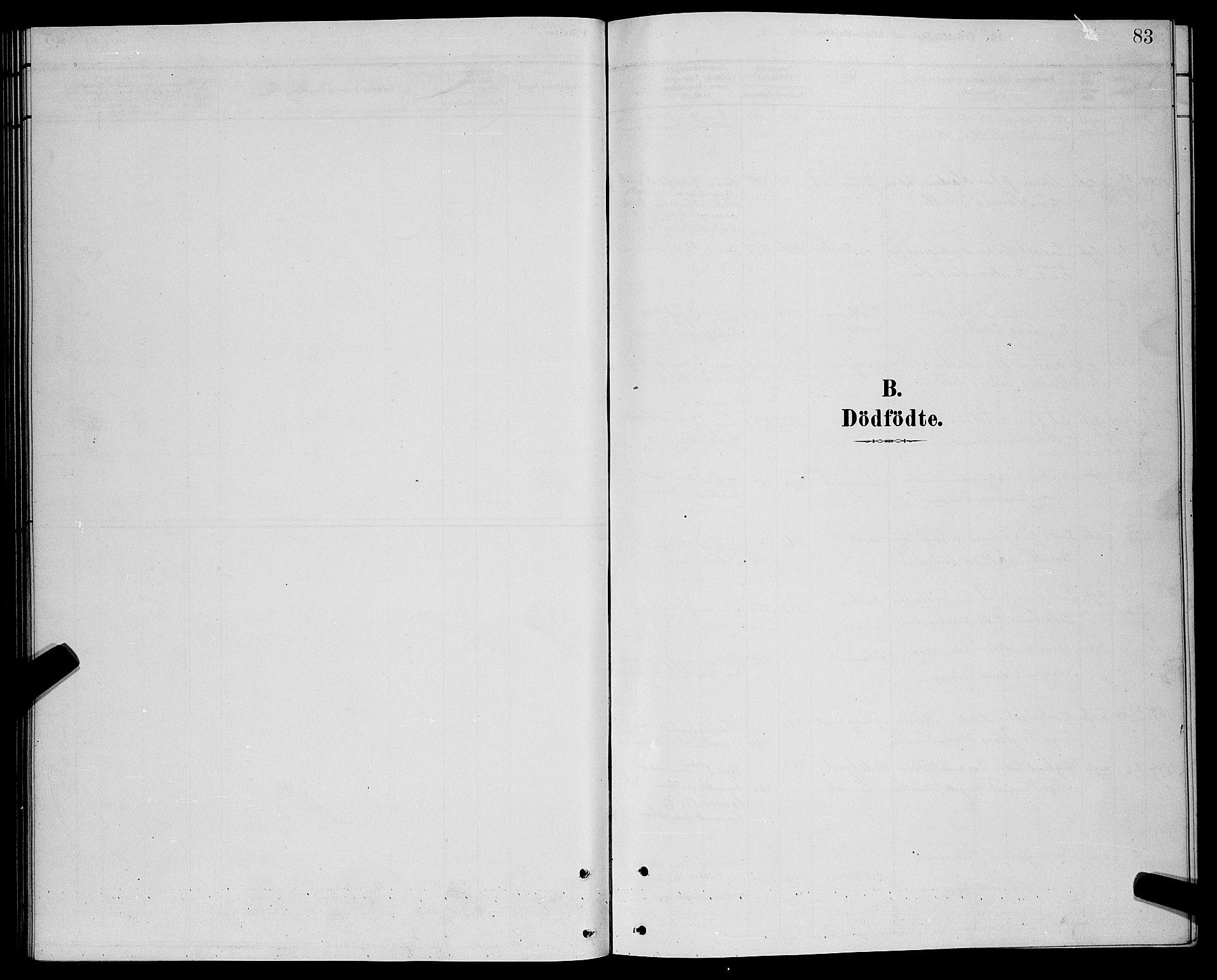 SATØ, Lenvik sokneprestembete, H/Ha: Klokkerbok nr. 21, 1884-1900, s. 83