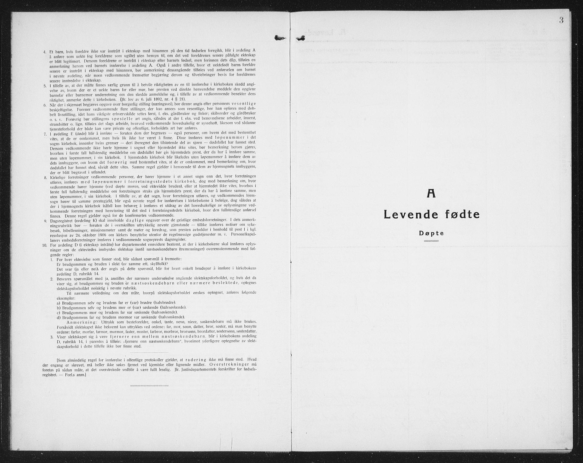SAT, Ministerialprotokoller, klokkerbøker og fødselsregistre - Nord-Trøndelag, 740/L0383: Klokkerbok nr. 740C04, 1927-1939, s. 3