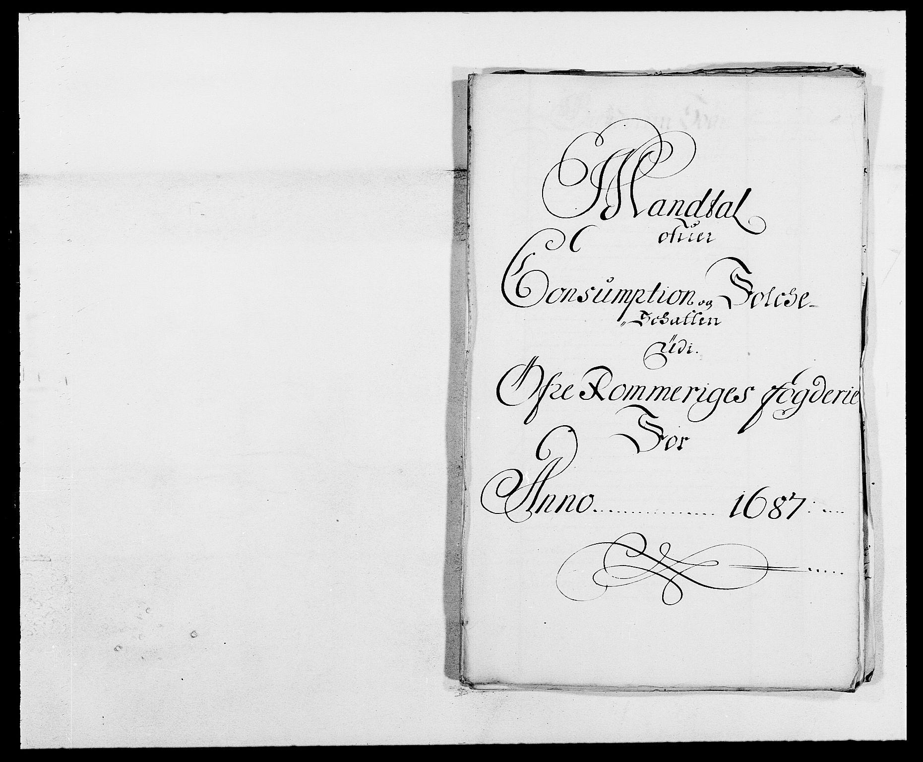 RA, Rentekammeret inntil 1814, Reviderte regnskaper, Fogderegnskap, R12/L0700: Fogderegnskap Øvre Romerike, 1687-1688, s. 148