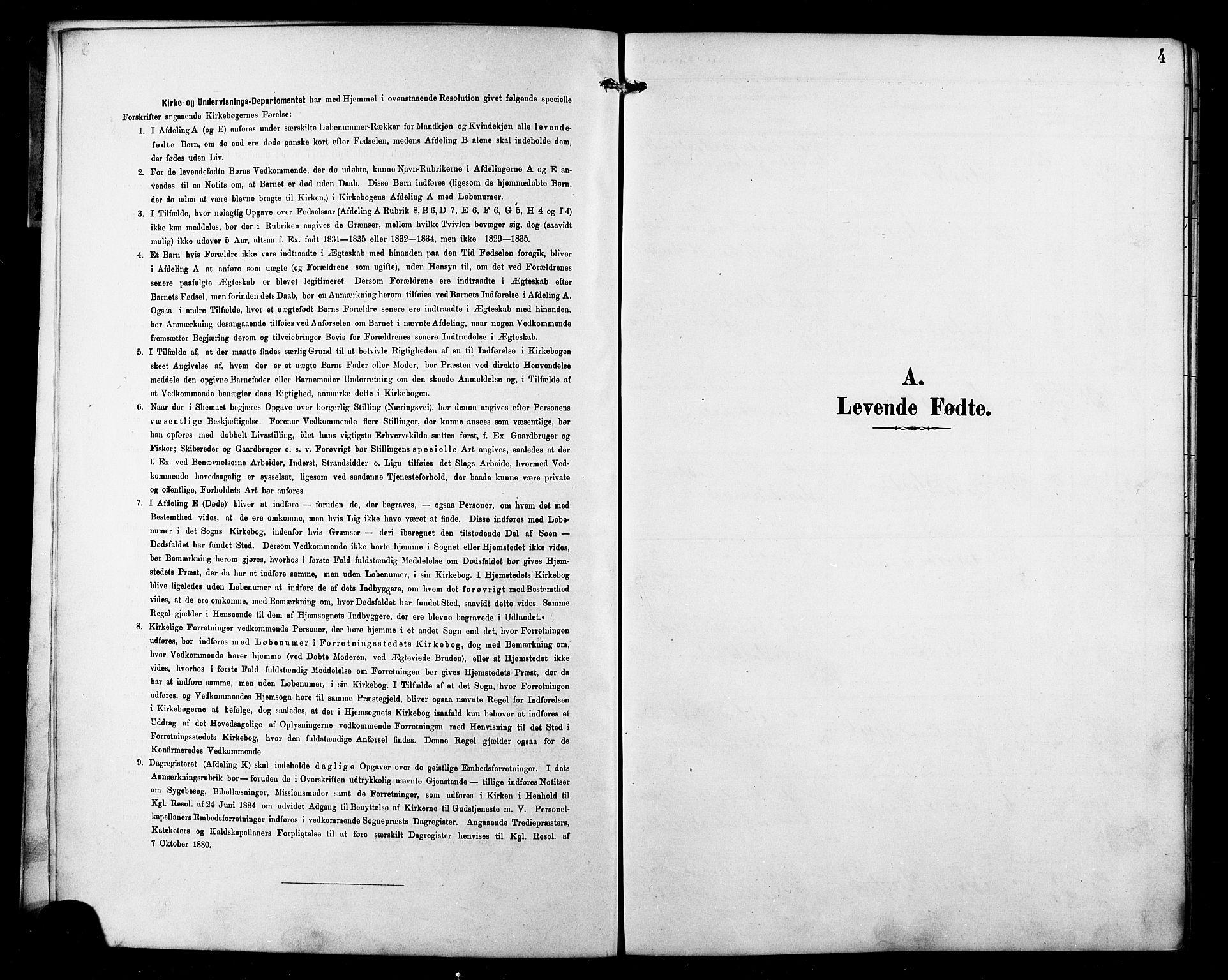 SATØ, Skjervøy sokneprestkontor, H/Ha/Hab/L0016klokker: Klokkerbok nr. 16, 1891-1907, s. 4