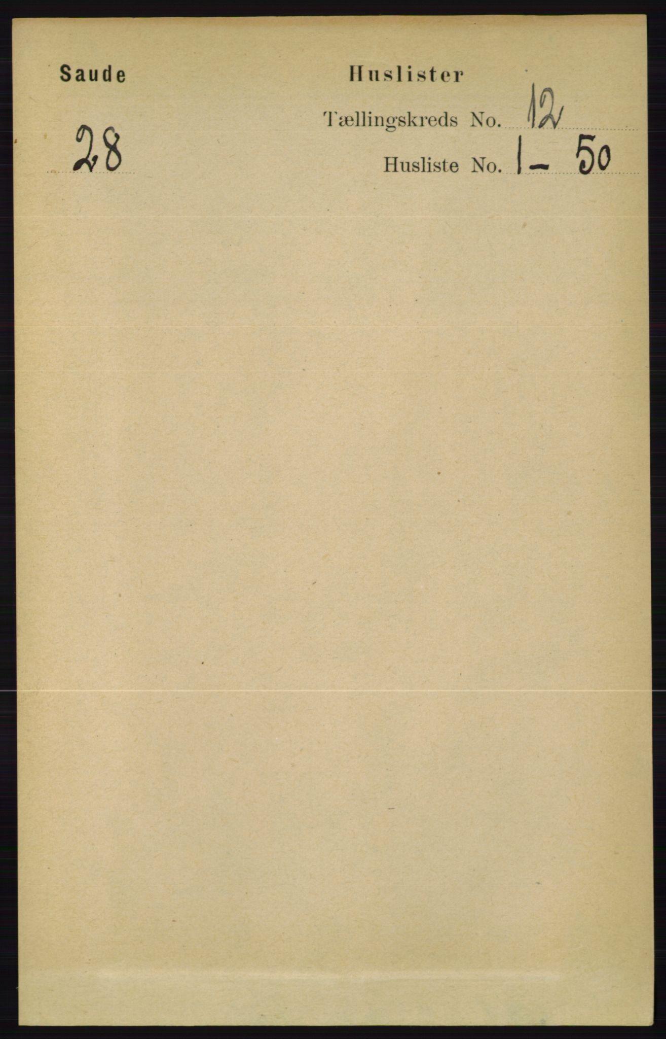RA, Folketelling 1891 for 0822 Sauherad herred, 1891, s. 3564