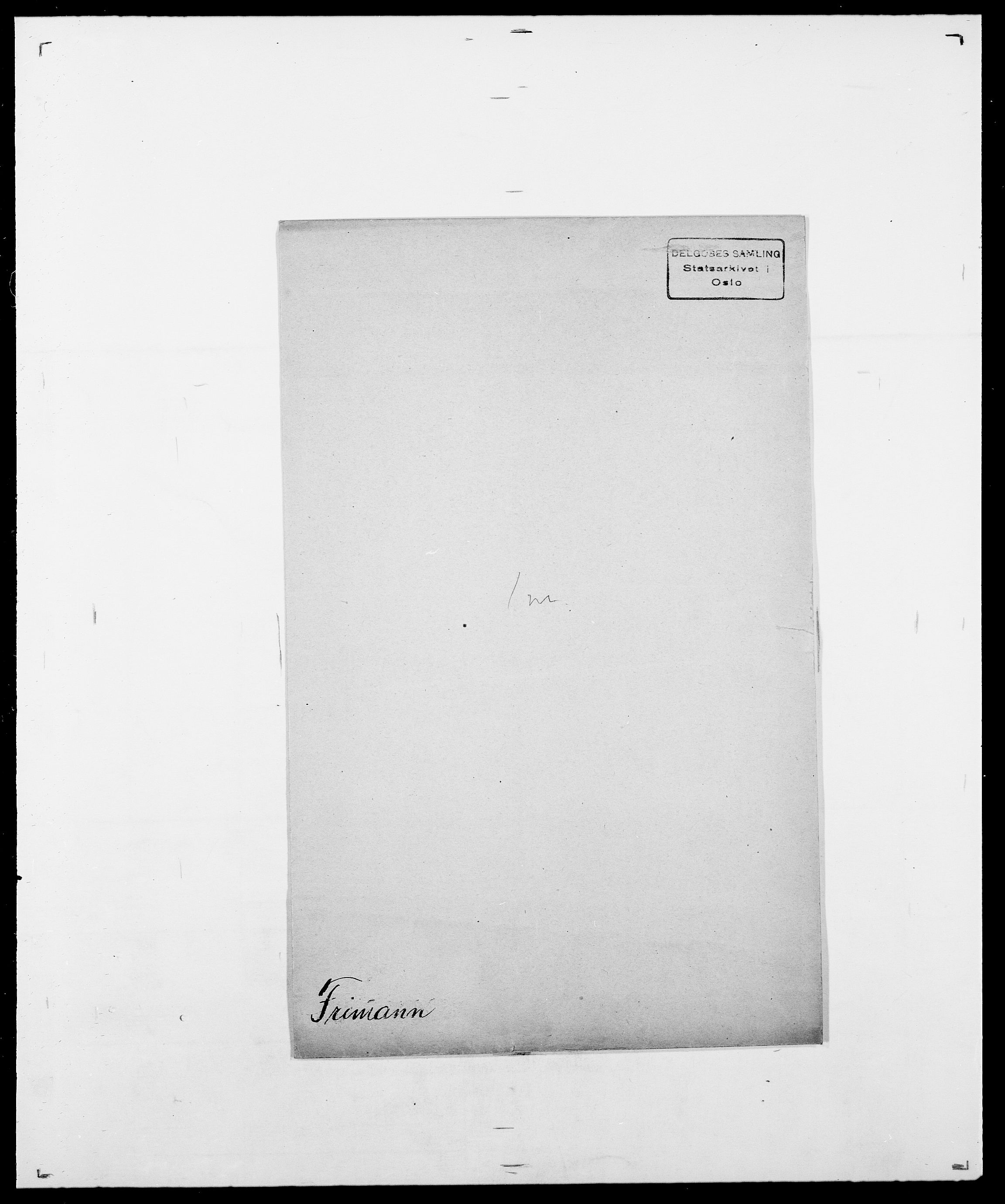 SAO, Delgobe, Charles Antoine - samling, D/Da/L0012: Flor, Floer, Flohr - Fritzner, s. 1019