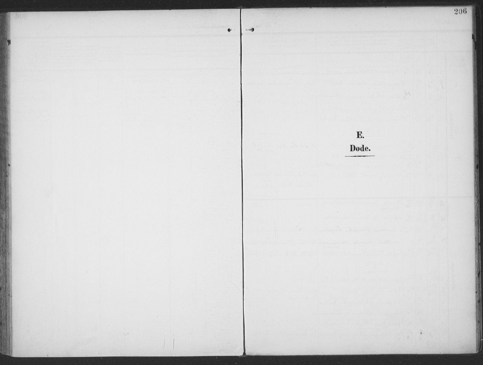 SAT, Ministerialprotokoller, klokkerbøker og fødselsregistre - Møre og Romsdal, 513/L0178: Ministerialbok nr. 513A05, 1906-1919, s. 206