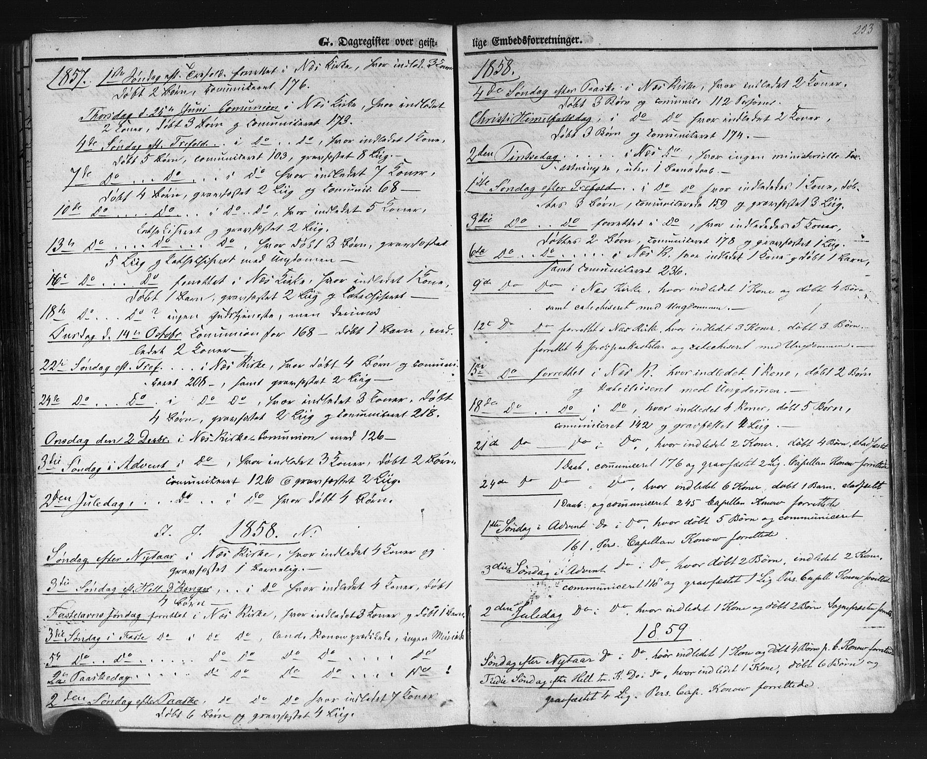 SAKO, Sauherad kirkebøker, F/Fb/L0001: Ministerialbok nr. II 1, 1851-1877, s. 253