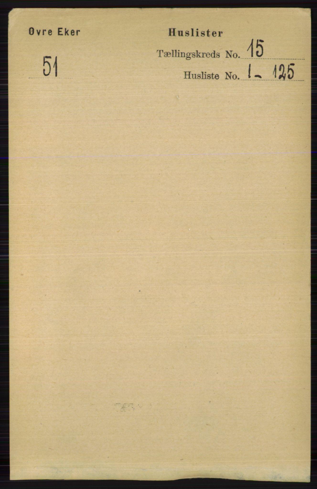 RA, Folketelling 1891 for 0624 Øvre Eiker herred, 1891, s. 6924