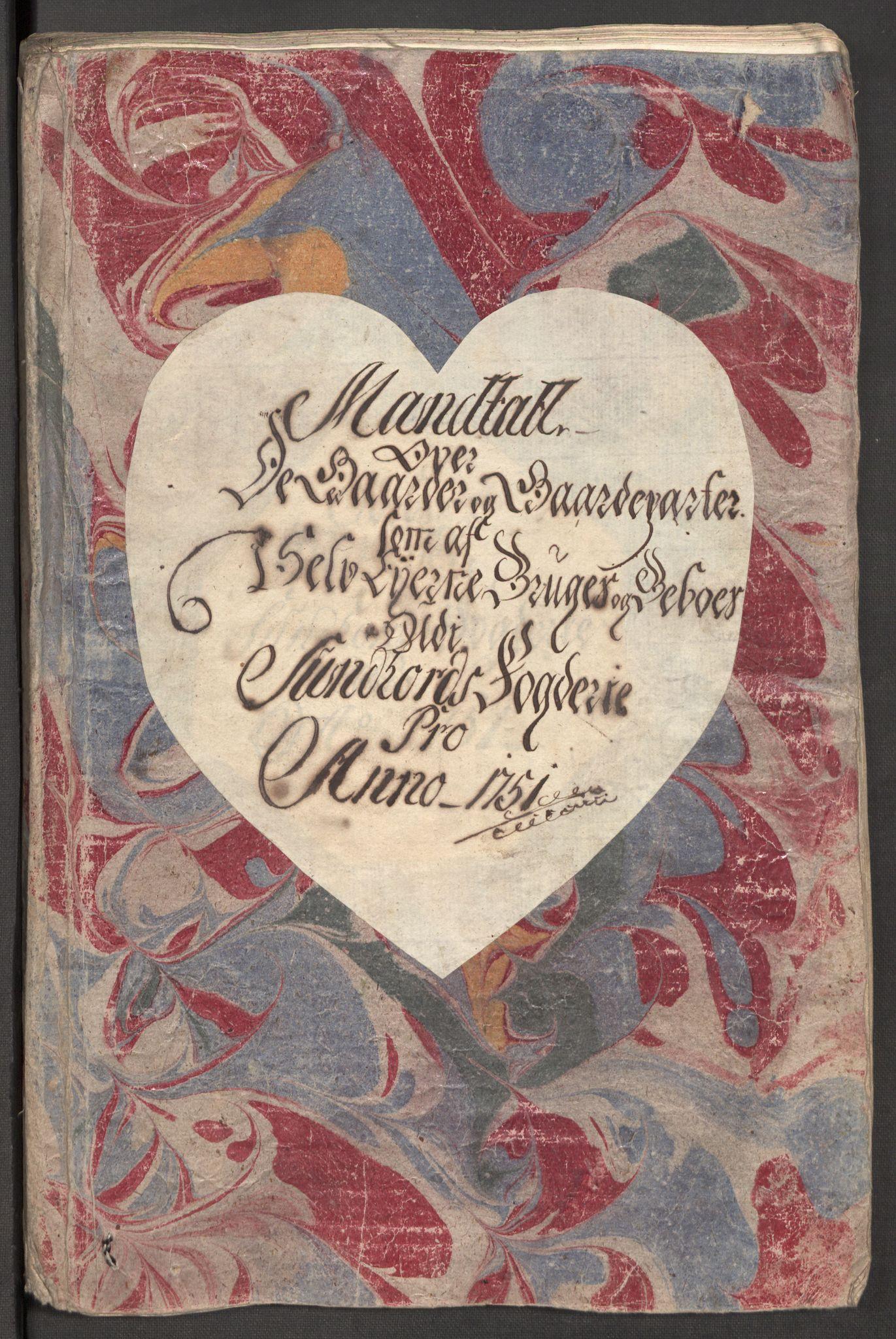 RA, Rentekammeret inntil 1814, Reviderte regnskaper, Fogderegnskap, R48/L3056: Fogderegnskap Sunnhordland og Hardanger, 1751, s. 327