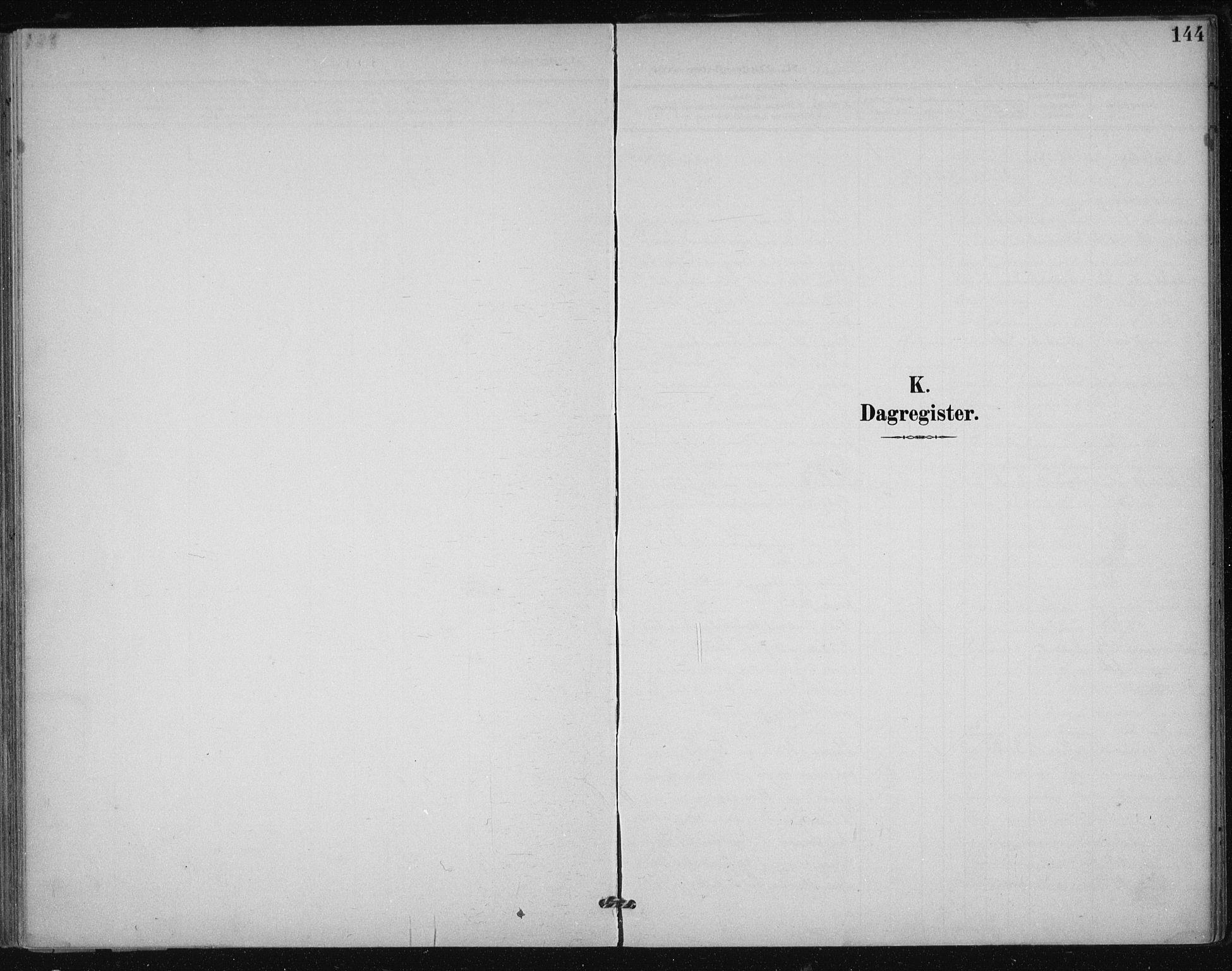 SAT, Ministerialprotokoller, klokkerbøker og fødselsregistre - Sør-Trøndelag, 612/L0380: Ministerialbok nr. 612A12, 1898-1907, s. 144