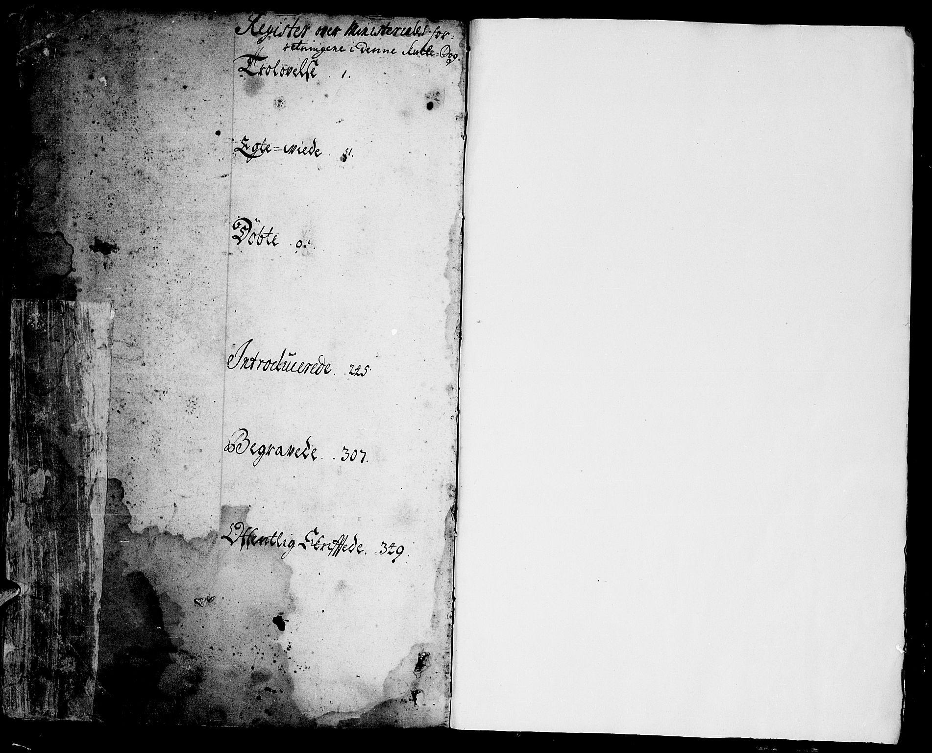 SAKO, Sannidal kirkebøker, F/Fa/L0001: Ministerialbok nr. 1, 1702-1766, s. 364-365