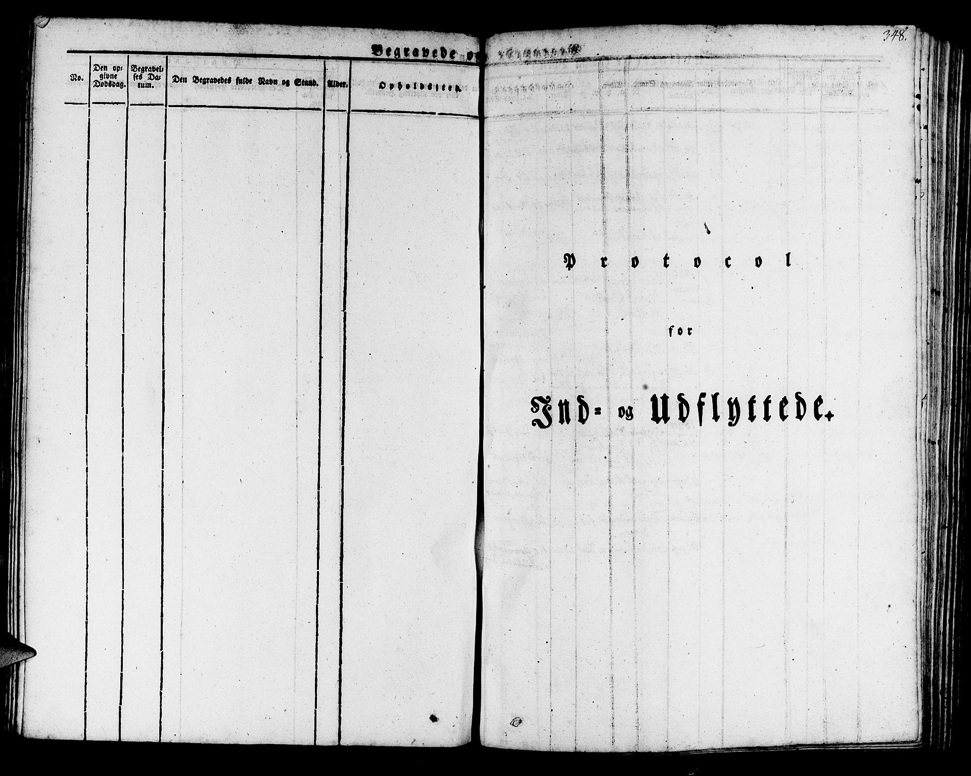 SAB, Manger sokneprestembete, H/Haa: Ministerialbok nr. A 4, 1824-1838, s. 348