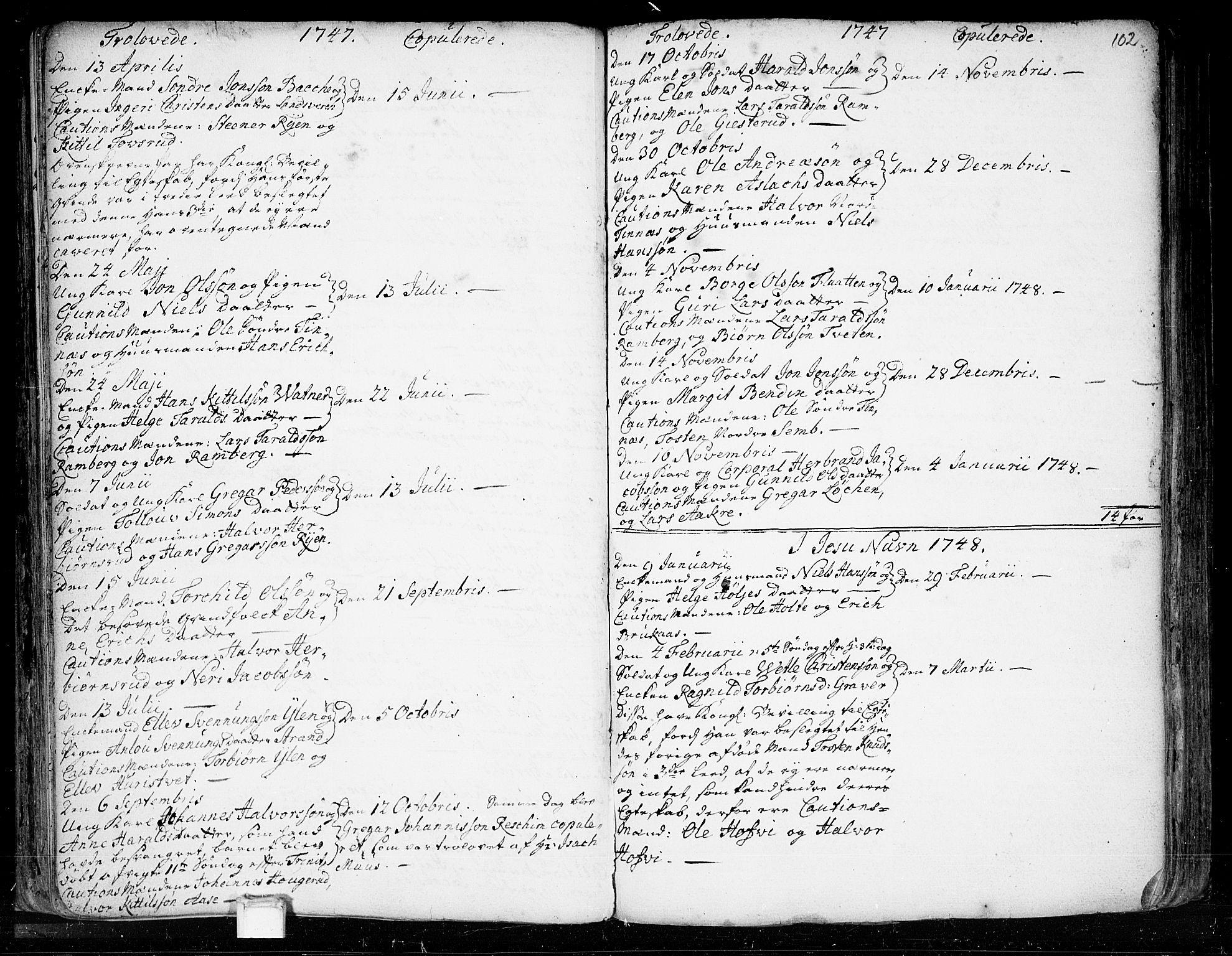 SAKO, Heddal kirkebøker, F/Fa/L0003: Ministerialbok nr. I 3, 1723-1783, s. 102
