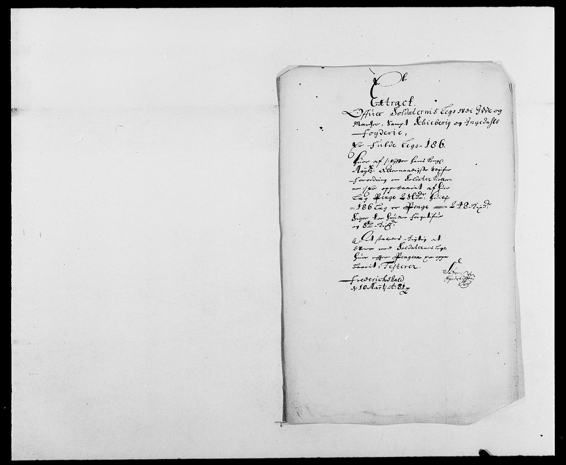 RA, Rentekammeret inntil 1814, Reviderte regnskaper, Fogderegnskap, R01/L0002: Fogderegnskap Idd og Marker, 1680-1681, s. 201