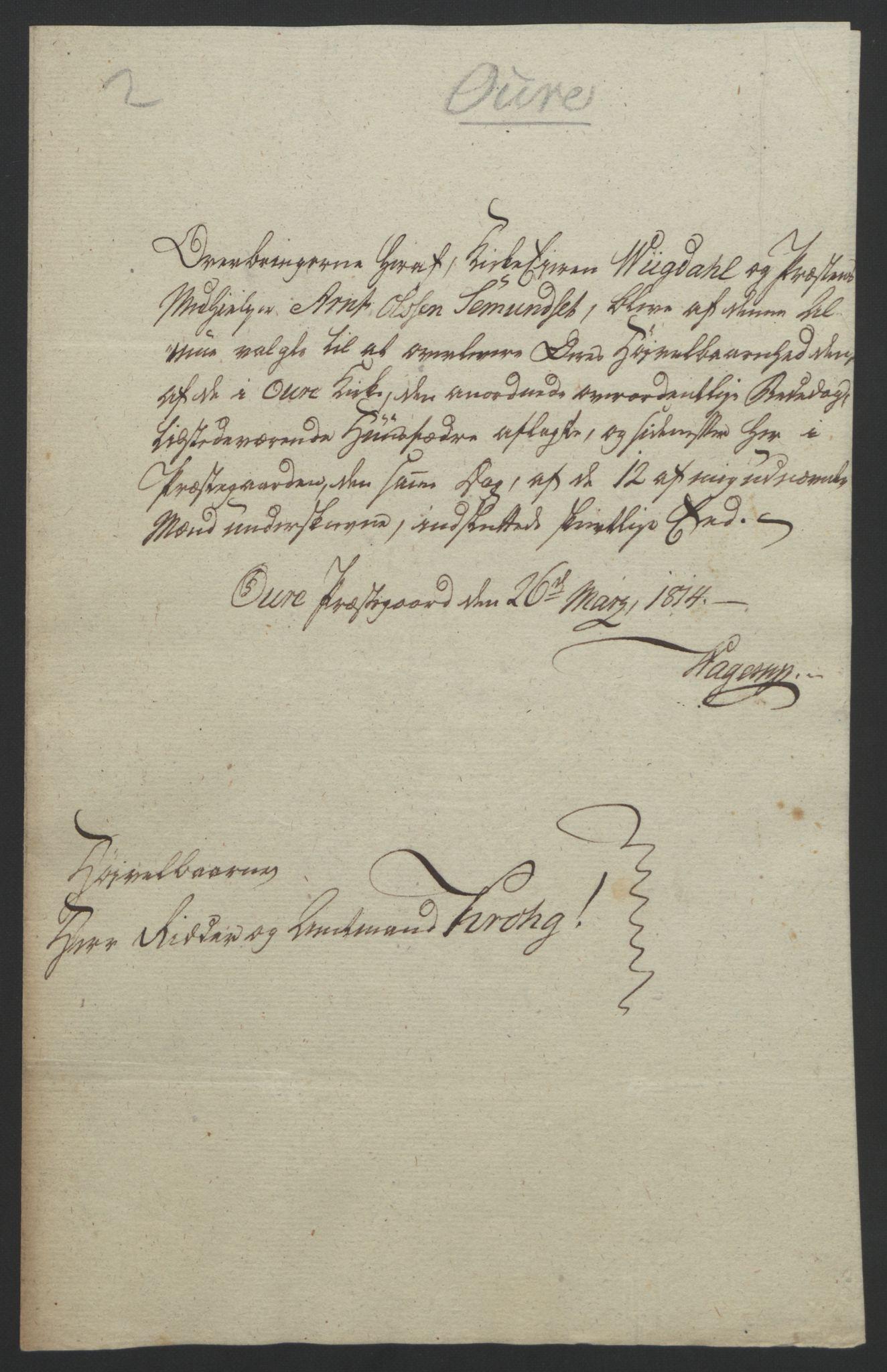 RA, Statsrådssekretariatet, D/Db/L0008: Fullmakter for Eidsvollsrepresentantene i 1814. , 1814, s. 359