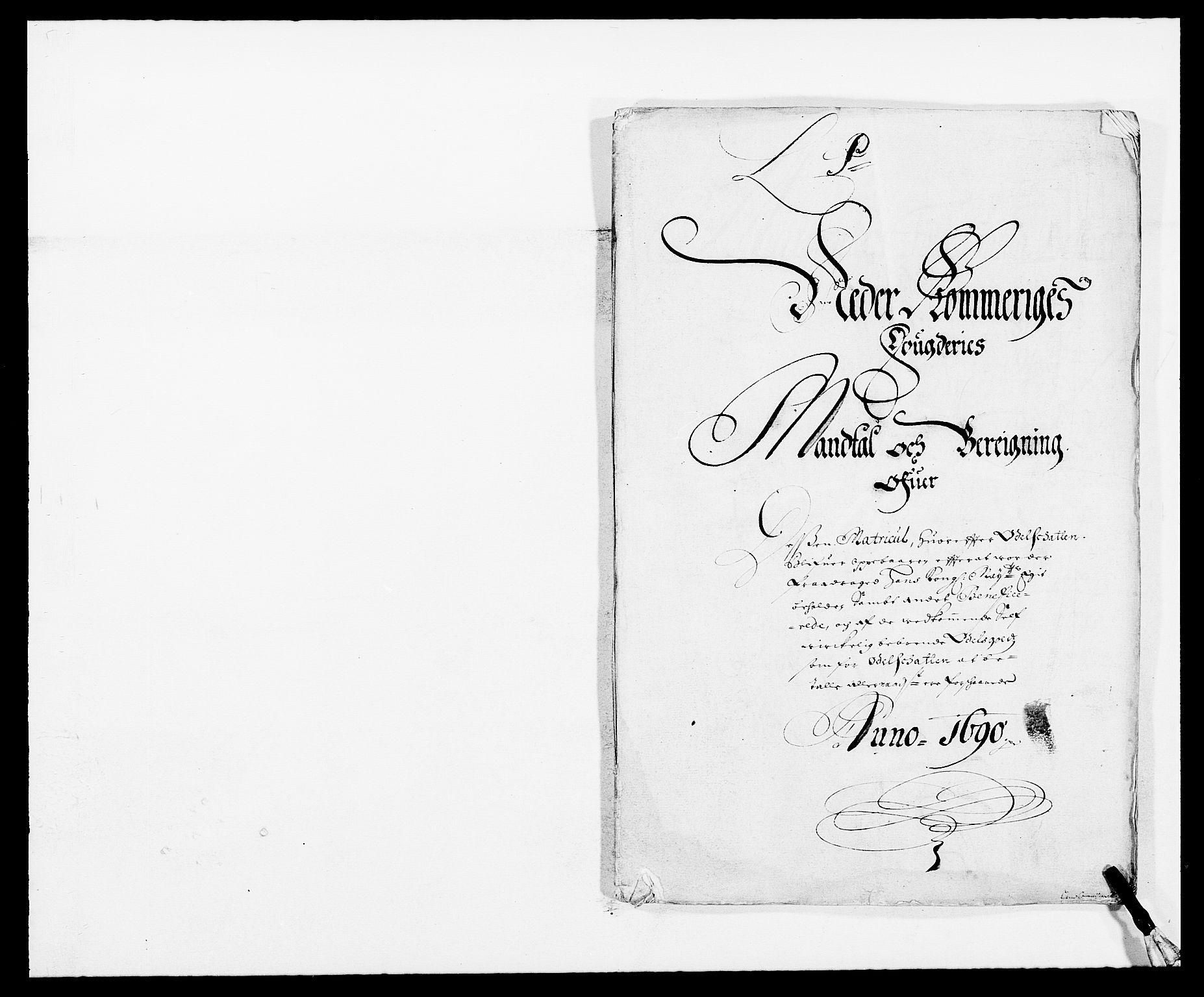RA, Rentekammeret inntil 1814, Reviderte regnskaper, Fogderegnskap, R11/L0574: Fogderegnskap Nedre Romerike, 1689-1690, s. 319