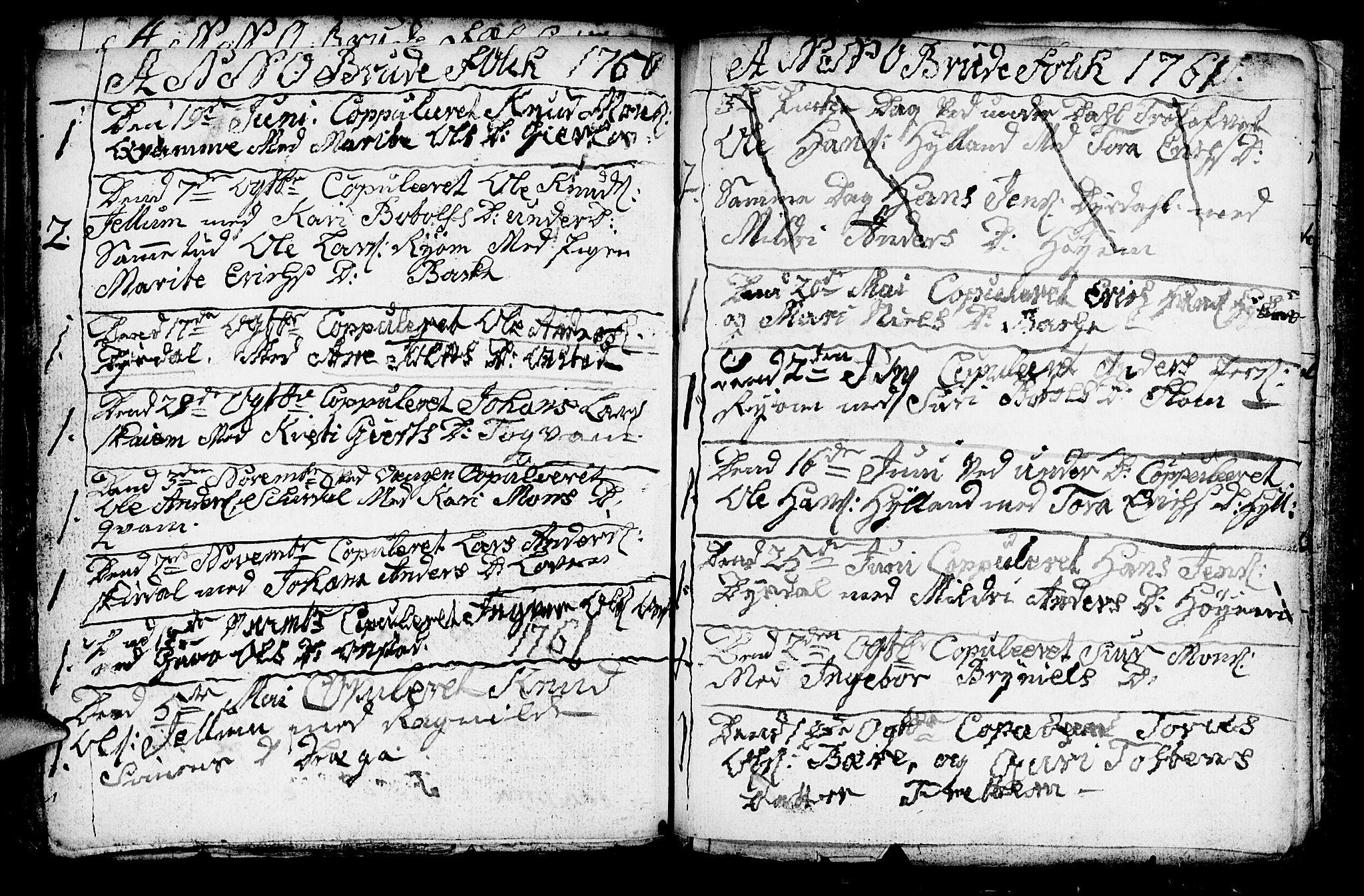 SAB, Aurland Sokneprestembete*, Ministerialbok nr. A 3, 1735-1761, s. 200