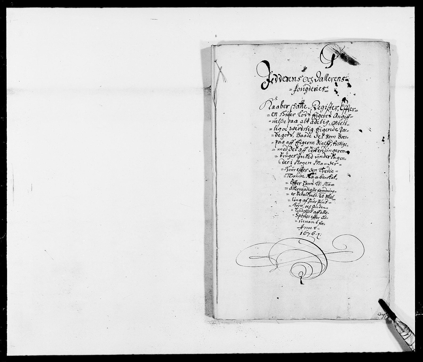 RA, Rentekammeret inntil 1814, Reviderte regnskaper, Fogderegnskap, R46/L2716: Fogderegnskap Jæren og Dalane, 1676, s. 211
