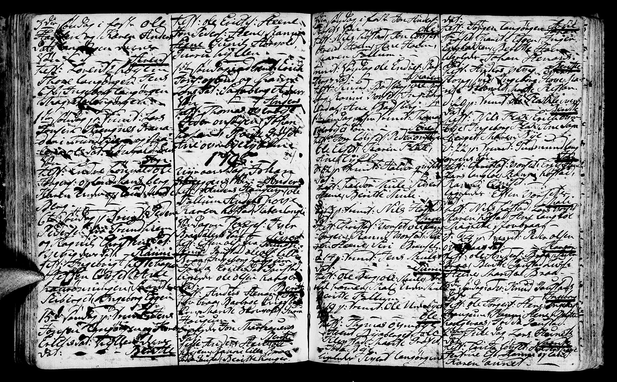 SAT, Ministerialprotokoller, klokkerbøker og fødselsregistre - Sør-Trøndelag, 612/L0370: Ministerialbok nr. 612A04, 1754-1802, s. 121