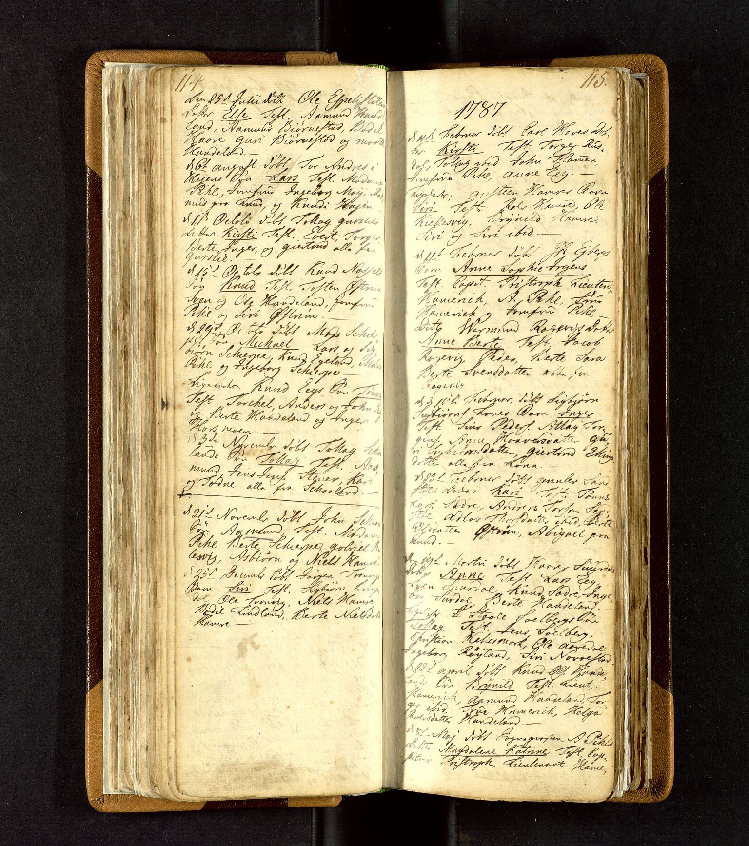 SAST, Lund sokneprestkontor, Ministerialbok nr. A 3, 1761-1801, s. 114-115