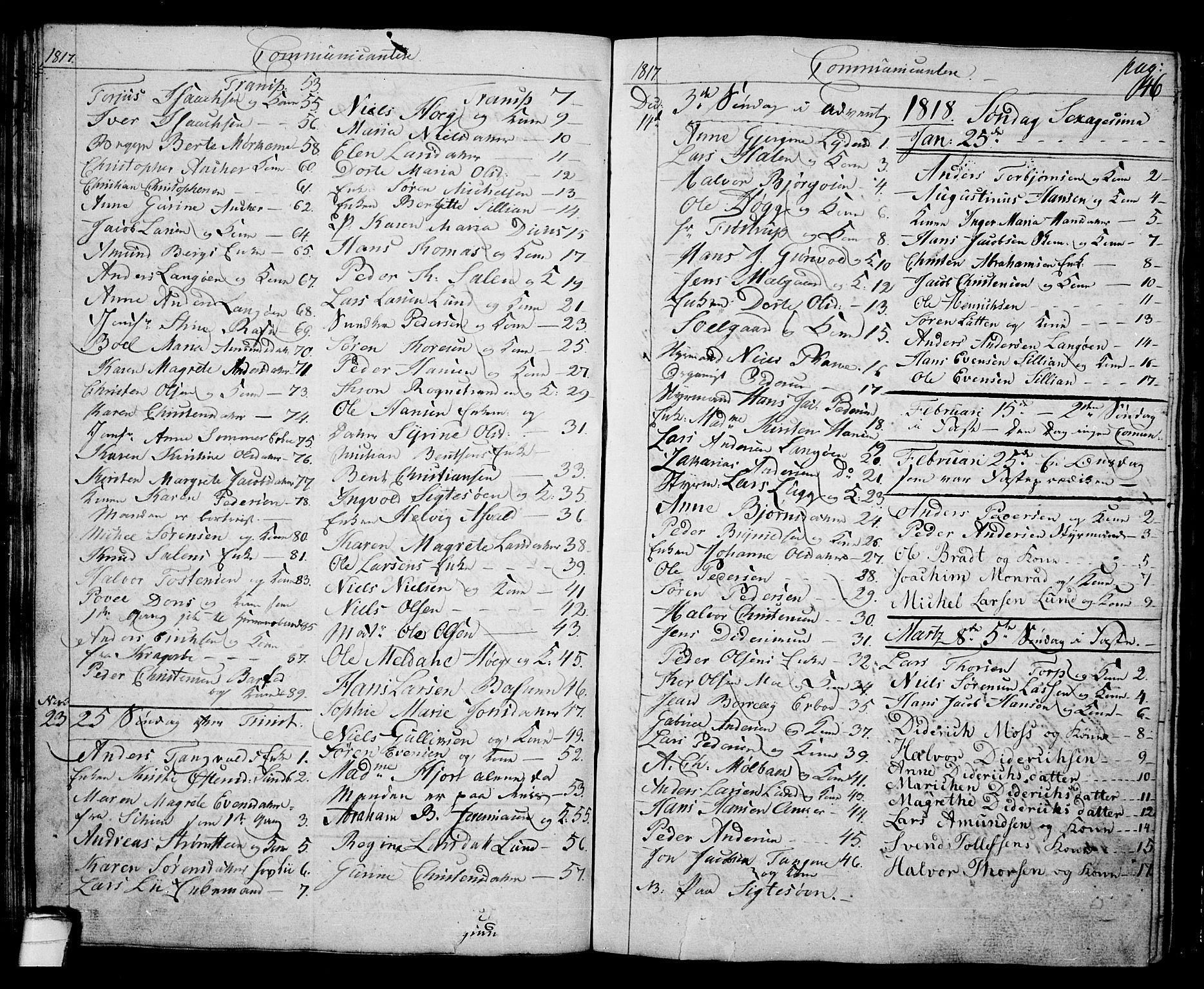 SAKO, Langesund kirkebøker, G/Ga/L0002: Klokkerbok nr. 2, 1801-1815, s. 46