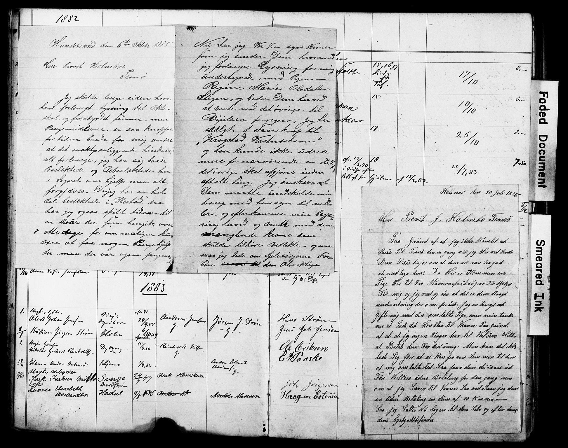 SATØ, Tranøy sokneprestkontor, J/Jc/L0052: Lysningsprotokoll nr. 52, 1876-1918