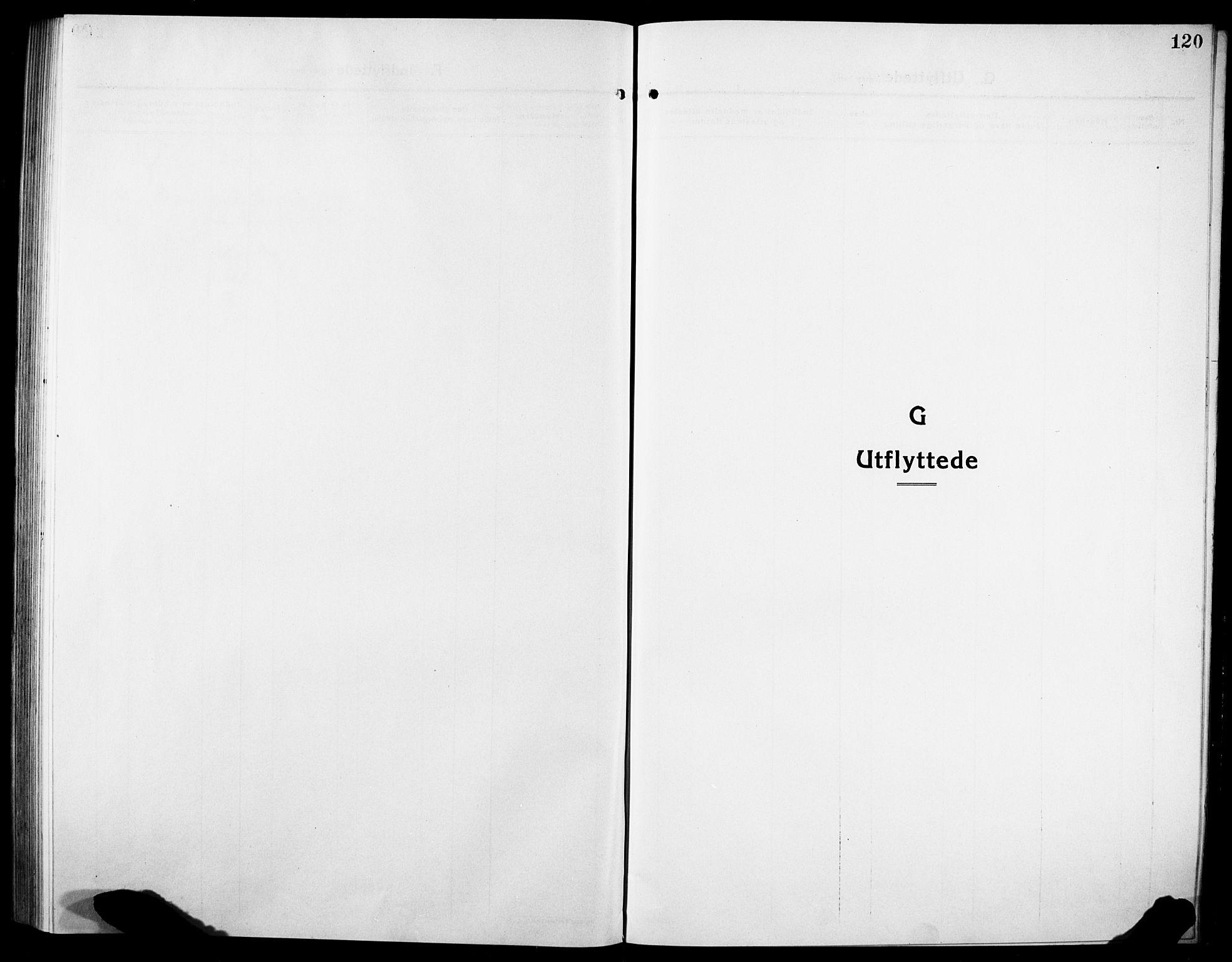 SAT, Ministerialprotokoller, klokkerbøker og fødselsregistre - Sør-Trøndelag, 634/L0543: Klokkerbok nr. 634C05, 1917-1928, s. 120