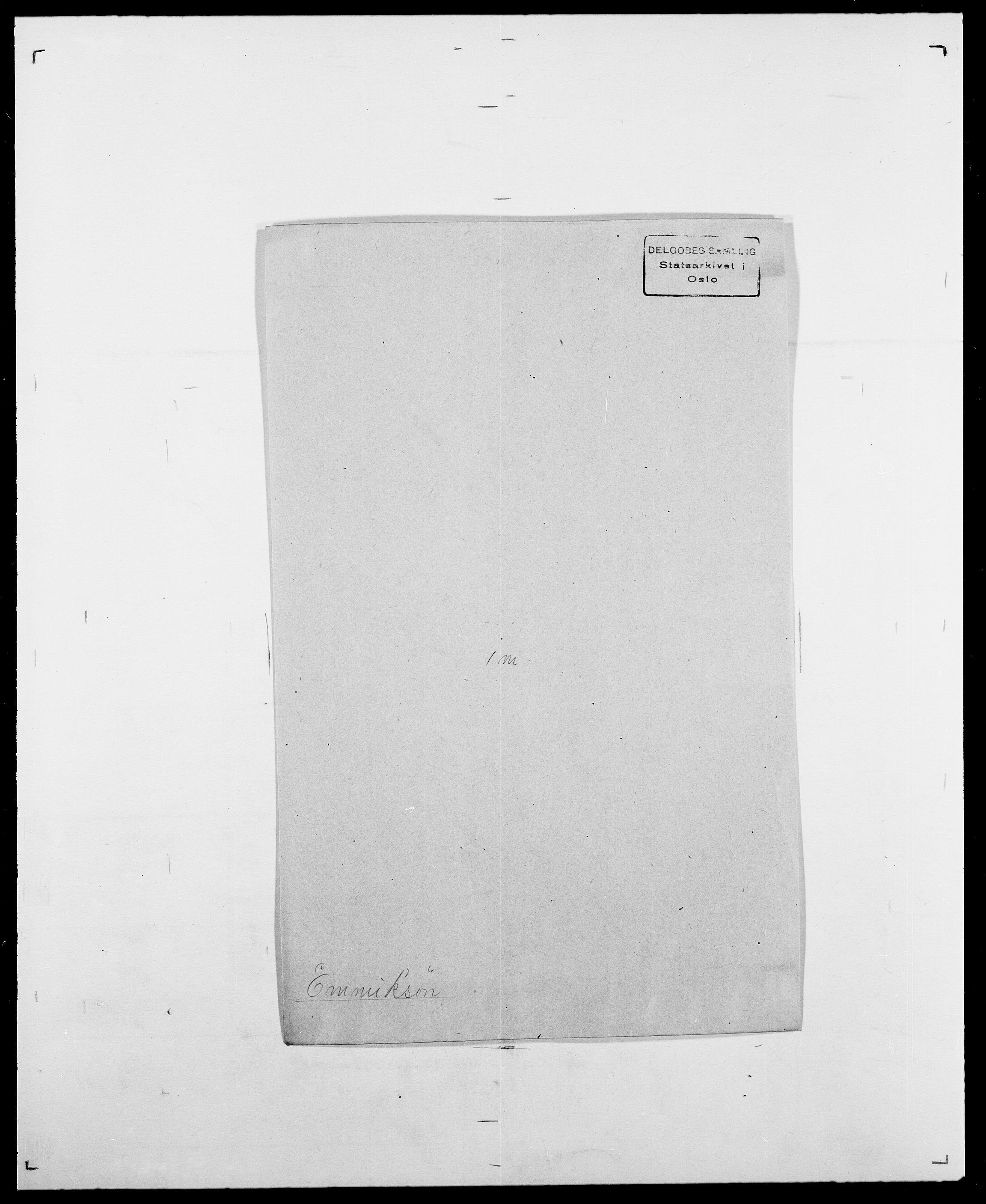 SAO, Delgobe, Charles Antoine - samling, D/Da/L0010: Dürendahl - Fagelund, s. 468