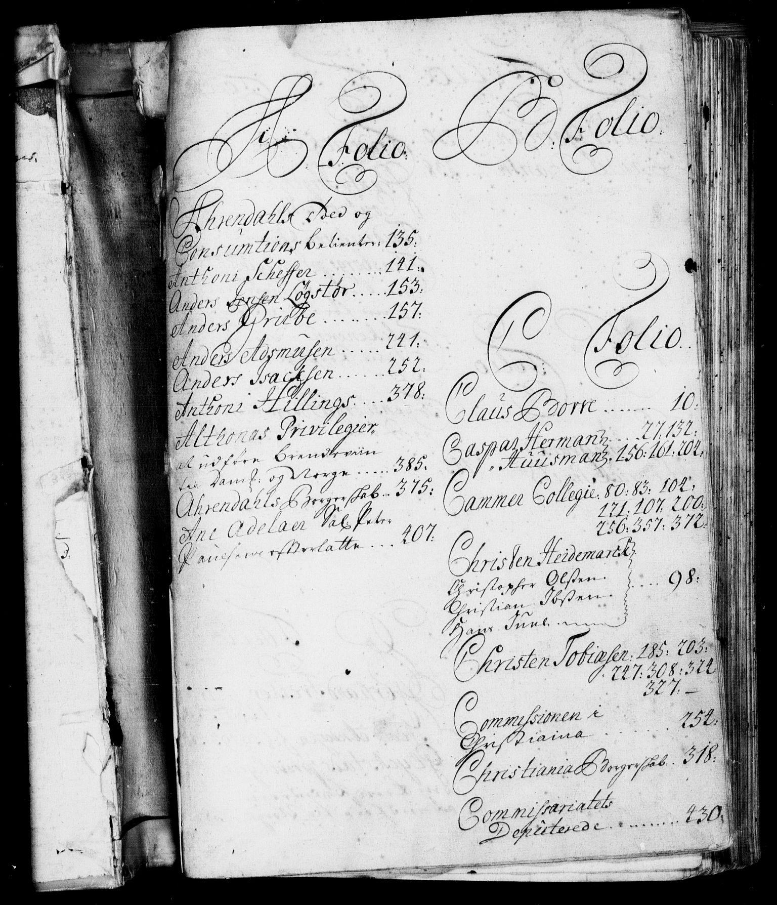 RA, Rentekammeret, Kammerkanselliet, G/Gf/Gfa/L0001: Resolusjonsprotokoll med register (merket RK 52.1), 1695-1706, s. upaginert