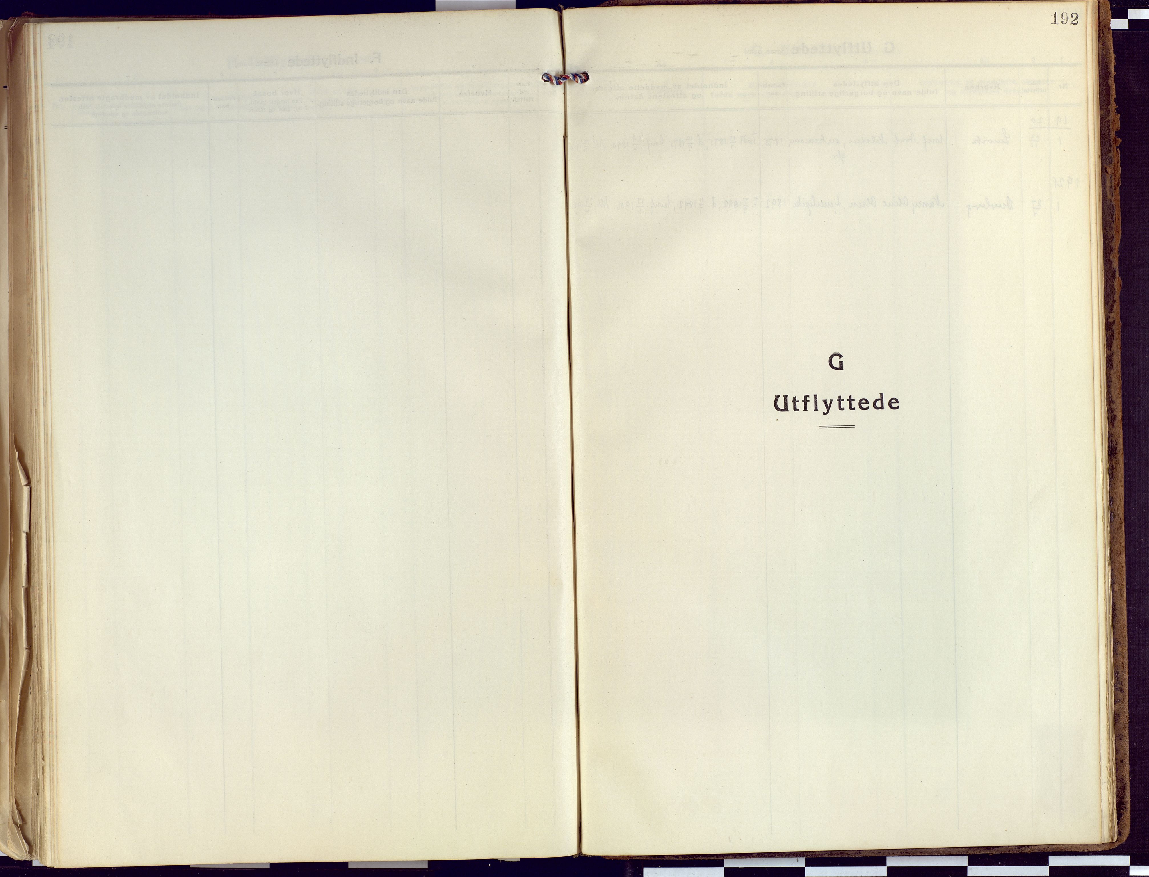 SATØ, Tranøy sokneprestkontor, I/Ia/Iaa/L0015kirke: Ministerialbok nr. 15, 1919-1928, s. 192