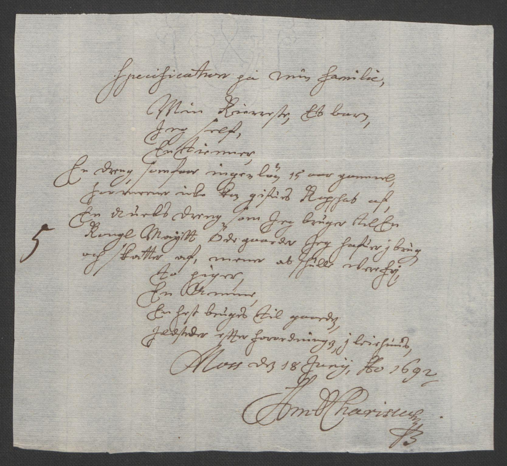 RA, Rentekammeret inntil 1814, Reviderte regnskaper, Fogderegnskap, R02/L0108: Fogderegnskap Moss og Verne kloster, 1692-1693, s. 158