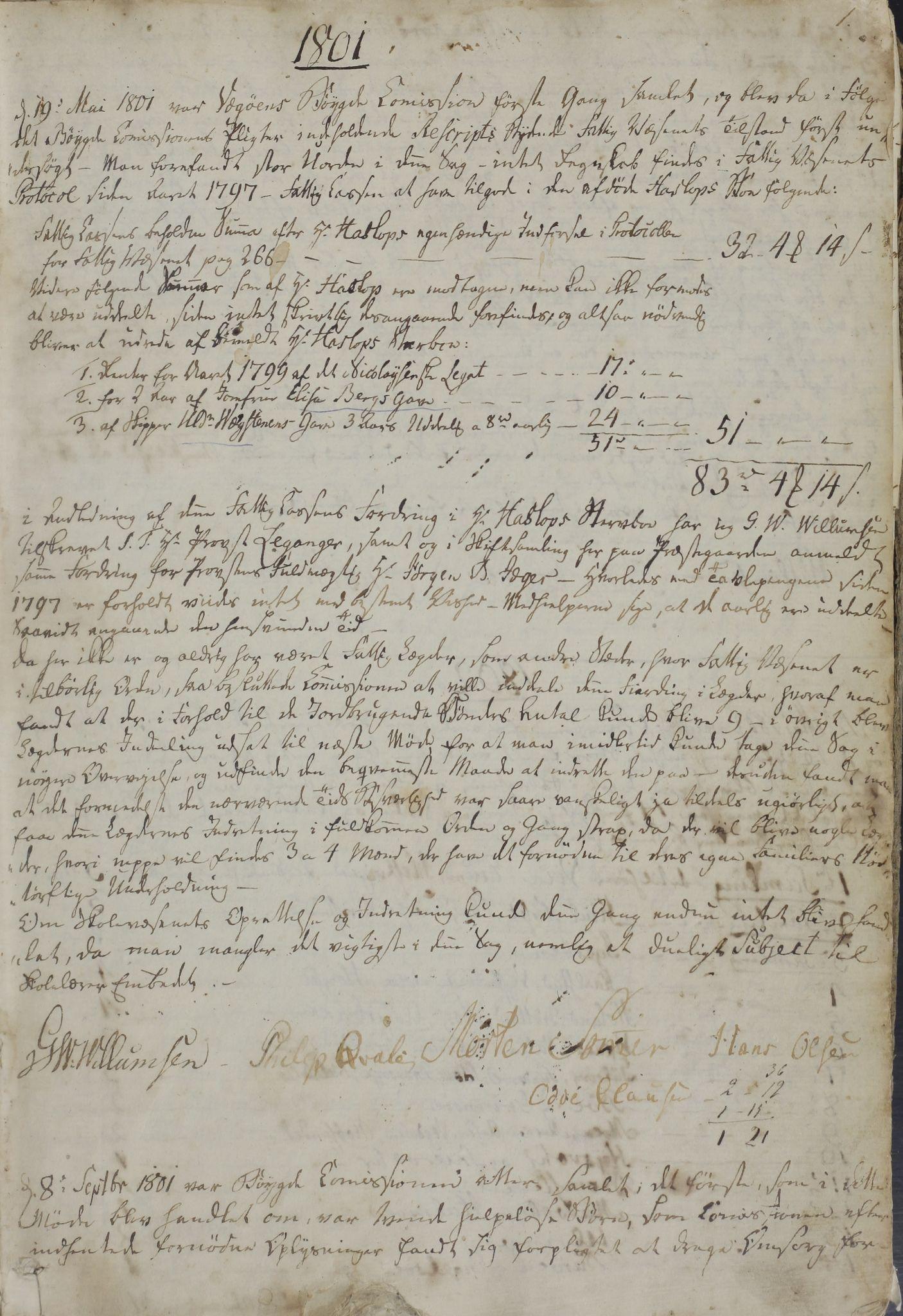 AIN, Vega kommune. Formannskapet, A/L0001: Møtebok, 1801-1846, s. 1