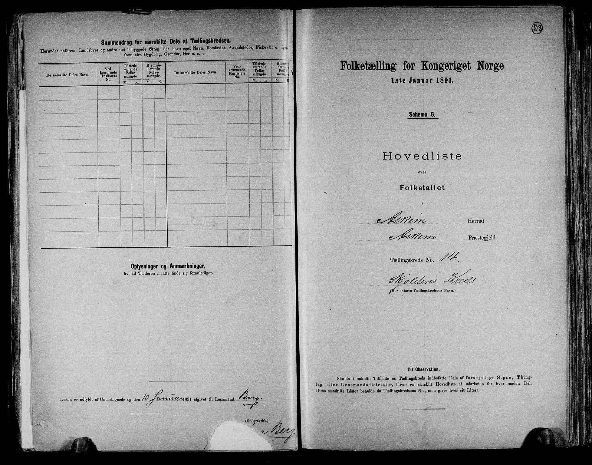 RA, Folketelling 1891 for 0124 Askim herred, 1891, s. 32
