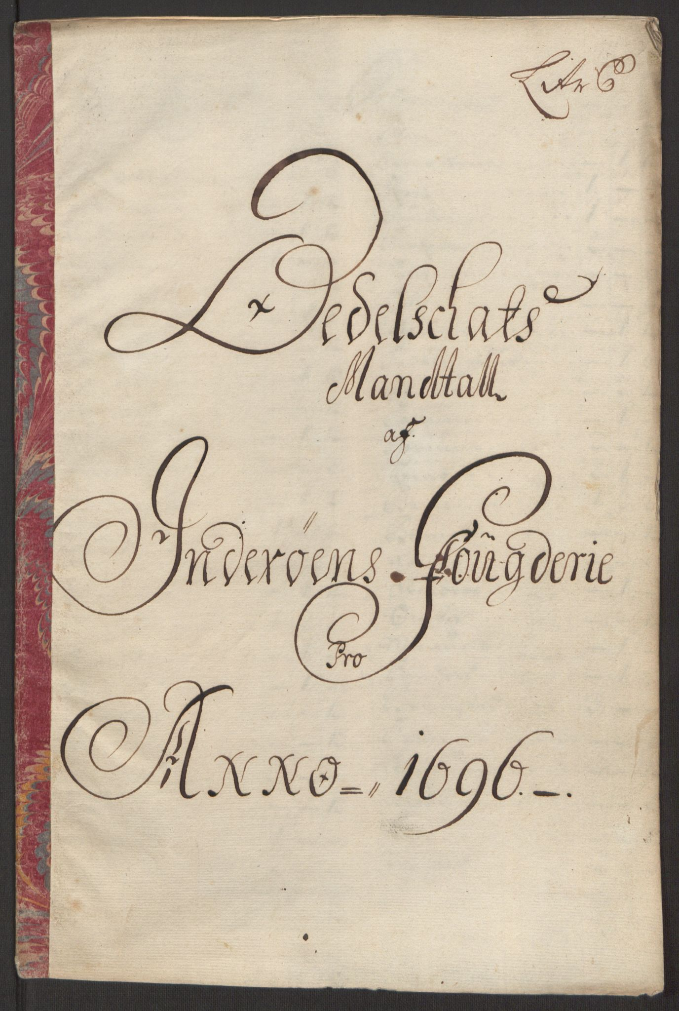 RA, Rentekammeret inntil 1814, Reviderte regnskaper, Fogderegnskap, R63/L4309: Fogderegnskap Inderøy, 1695-1697, s. 235