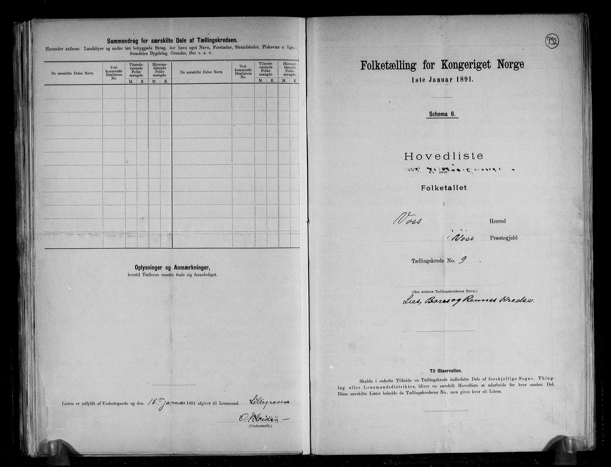 RA, Folketelling 1891 for 1235 Voss herred, 1891, s. 24