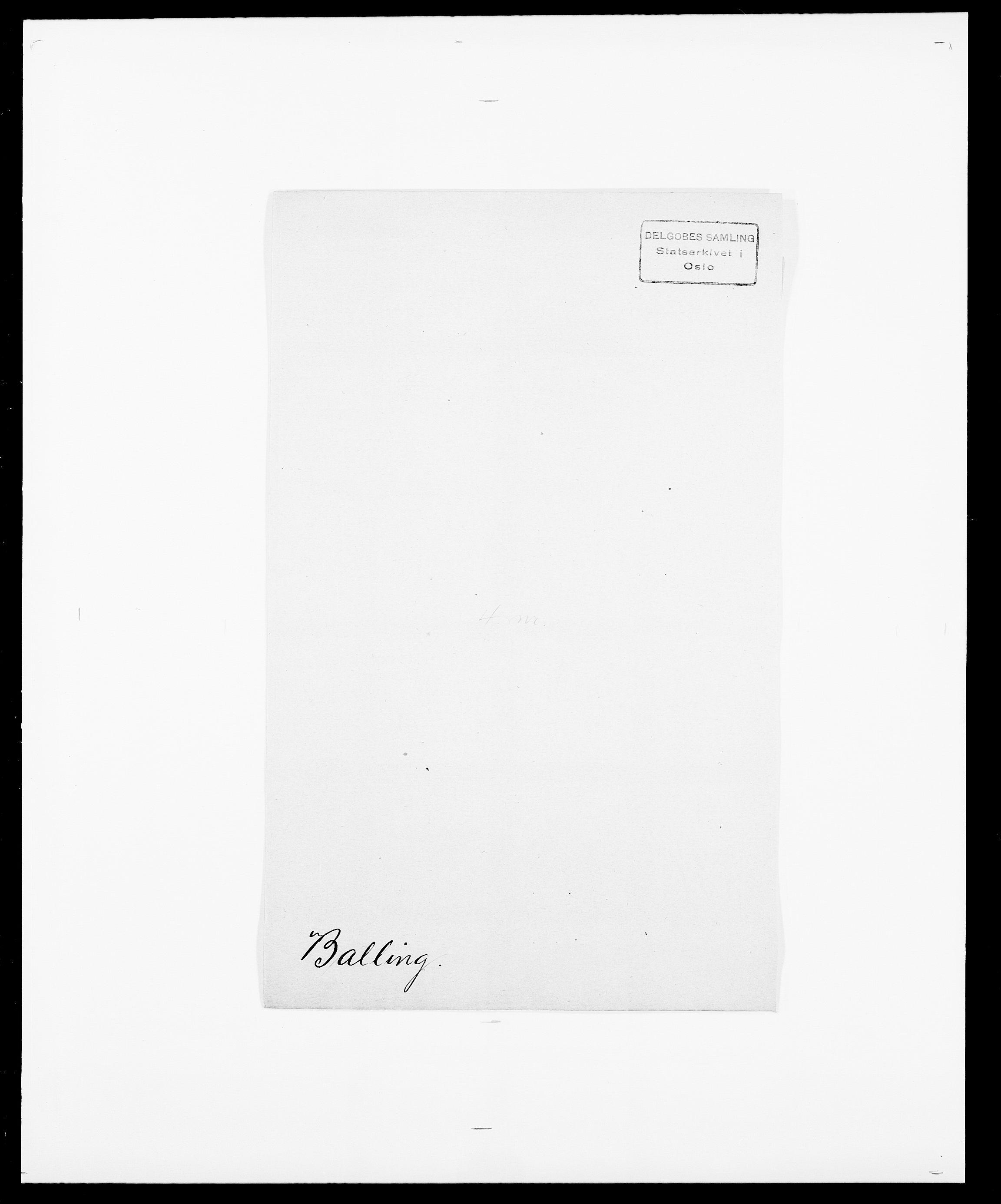 SAO, Delgobe, Charles Antoine - samling, D/Da/L0003: Barca - Bergen, s. 188