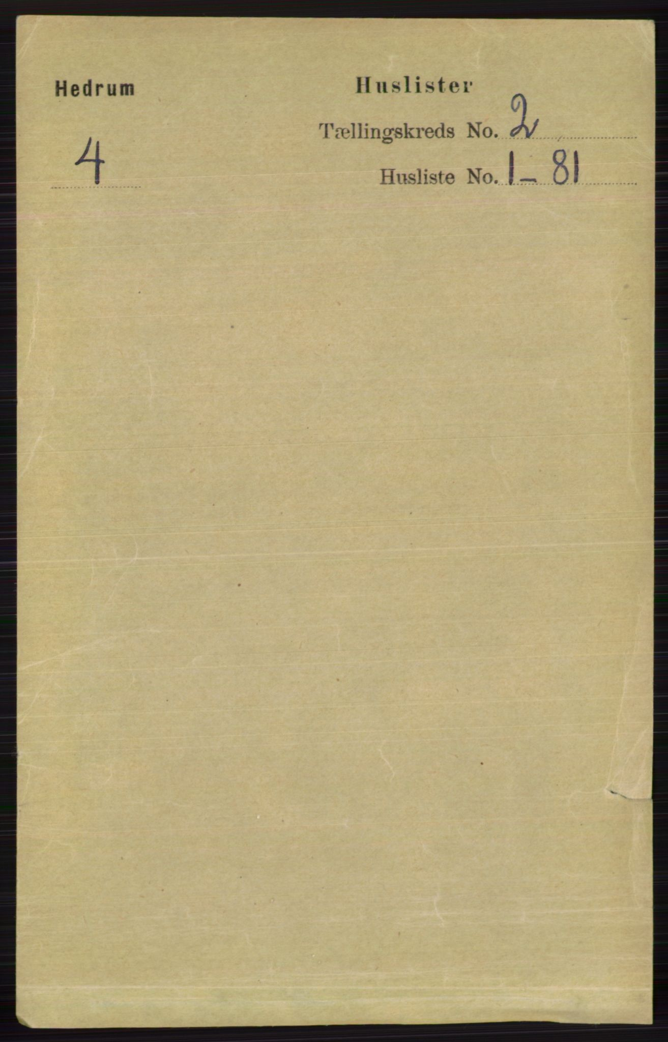 RA, Folketelling 1891 for 0727 Hedrum herred, 1891, s. 276