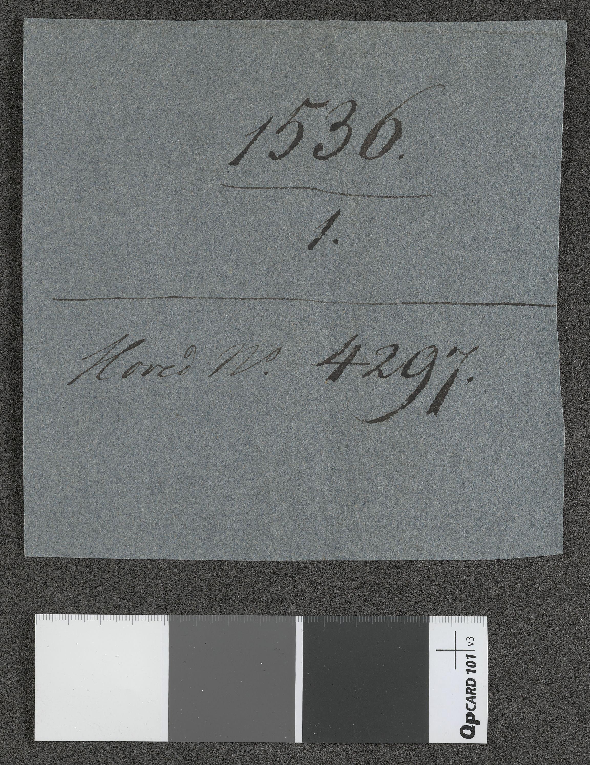 RA, Riksarkivets diplomsamling, F13/F13b/L0016: Olav Engelbrektssons regnskaper, 1536