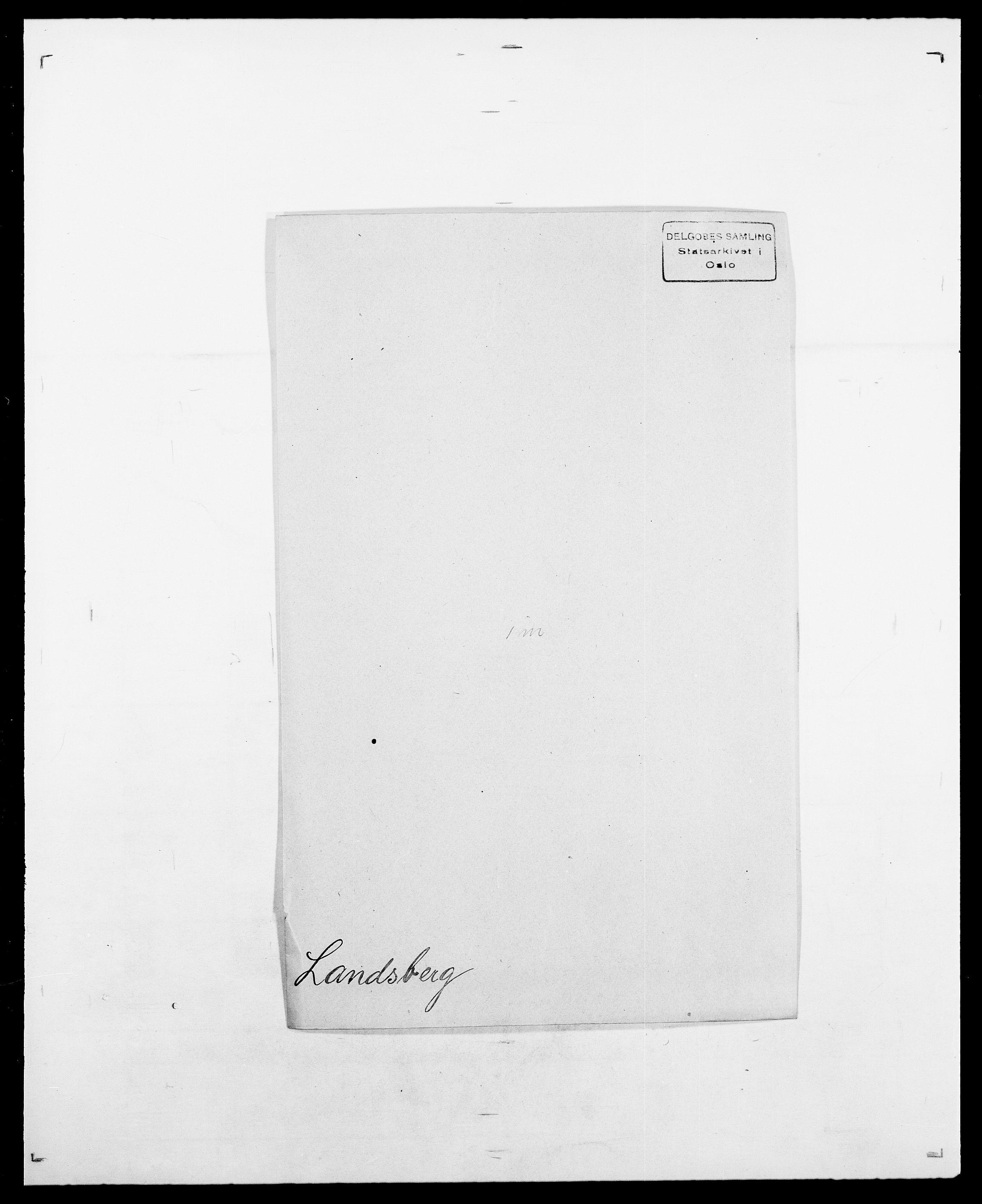 SAO, Delgobe, Charles Antoine - samling, D/Da/L0022: Krog - Lasteen, s. 531