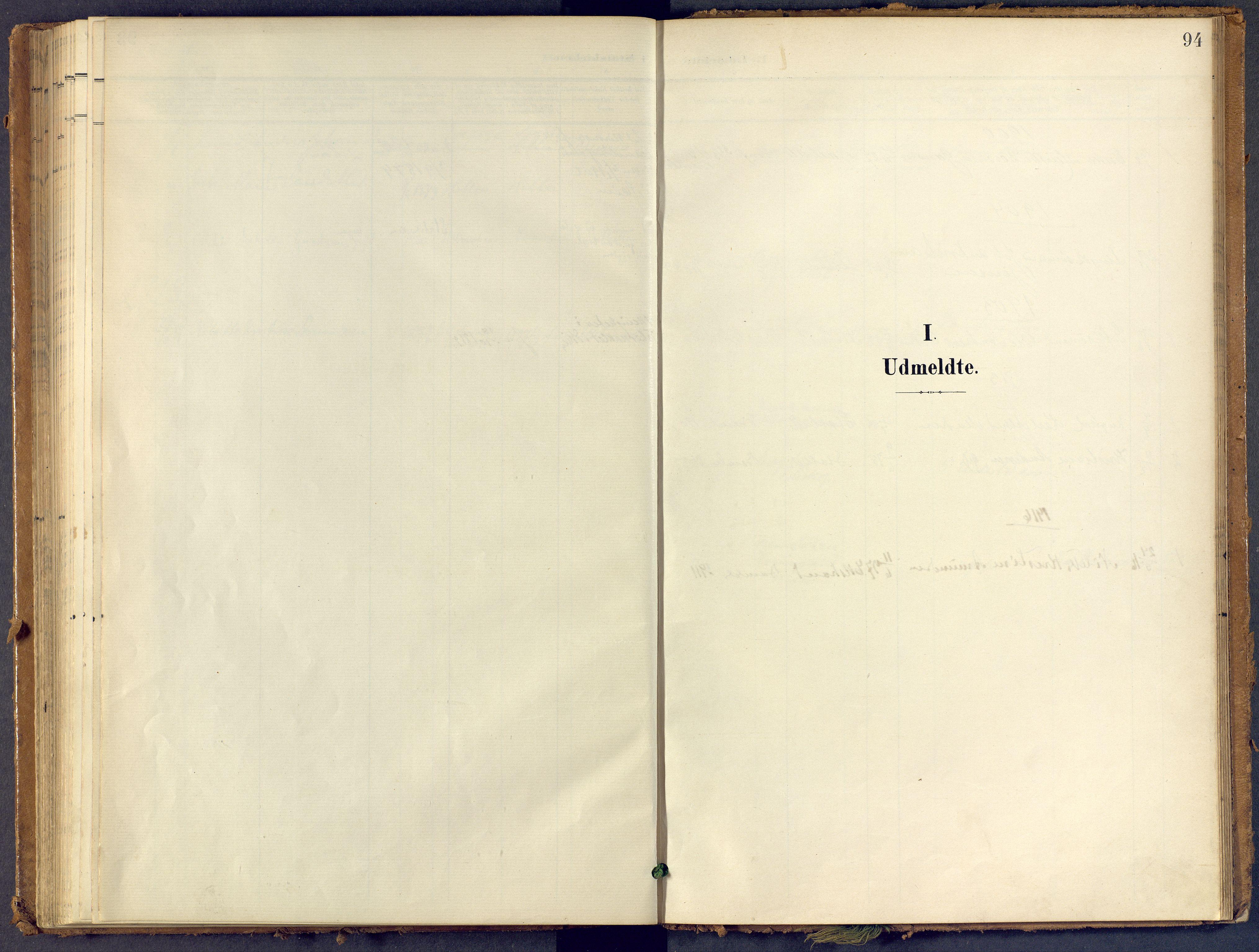 SAKO, Bamble kirkebøker, F/Fb/L0002: Ministerialbok nr. II 2, 1900-1921, s. 94