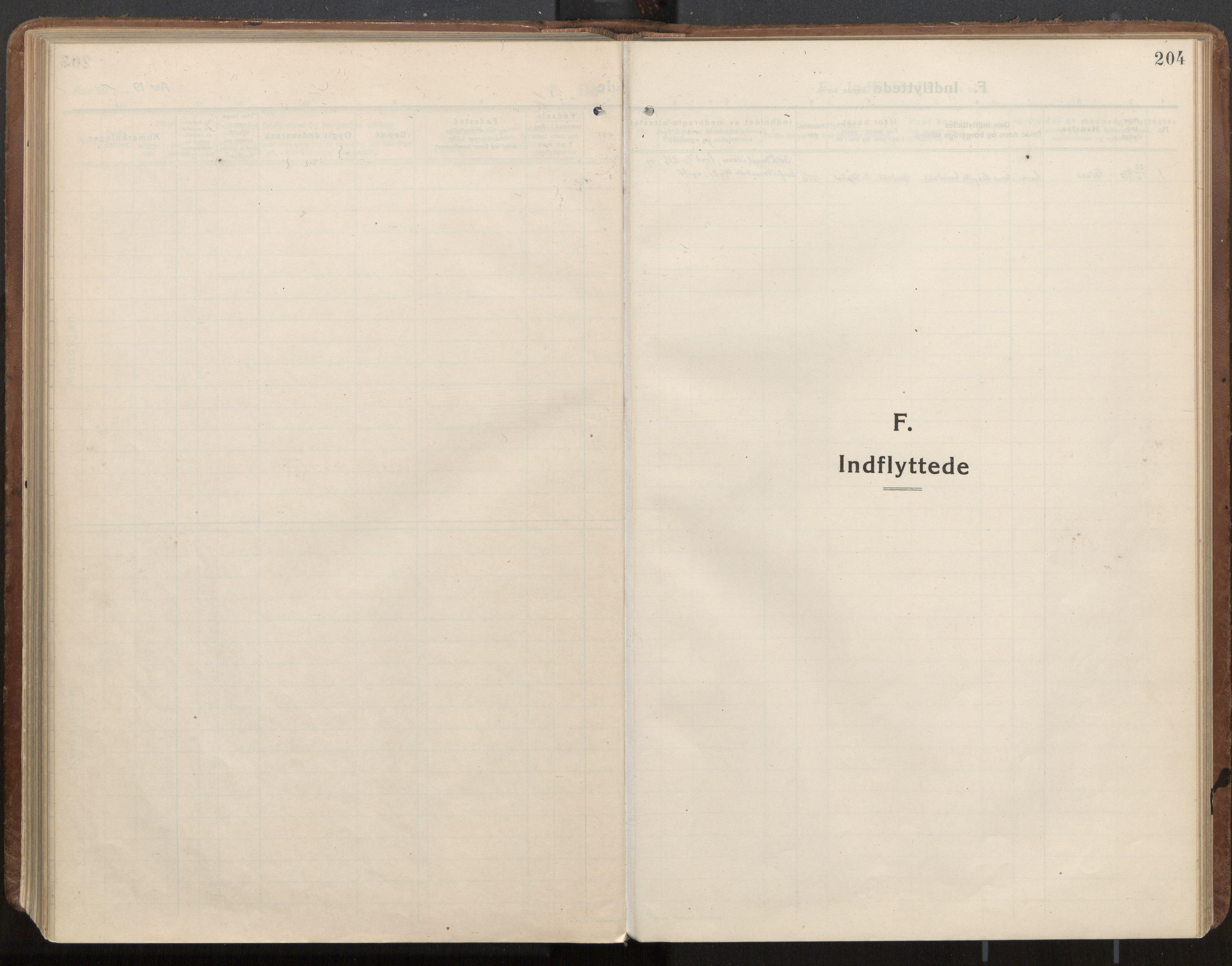 SAT, Ministerialprotokoller, klokkerbøker og fødselsregistre - Nord-Trøndelag, 703/L0037: Ministerialbok nr. 703A10, 1915-1932, s. 204