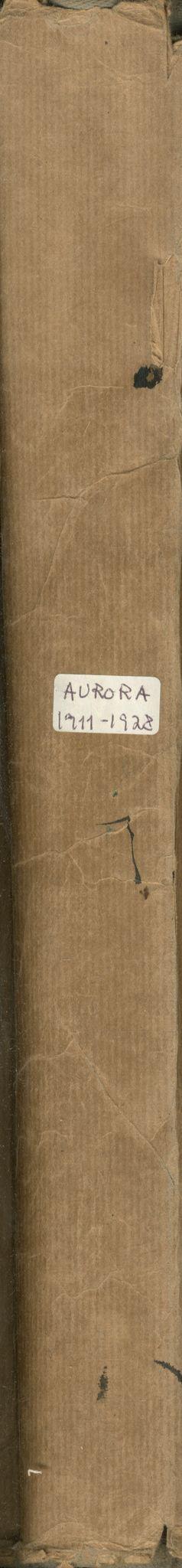 VAMU, Brodtkorb handel A/S, F/Fb/L0002: Trent - Aurora, 1911-1928