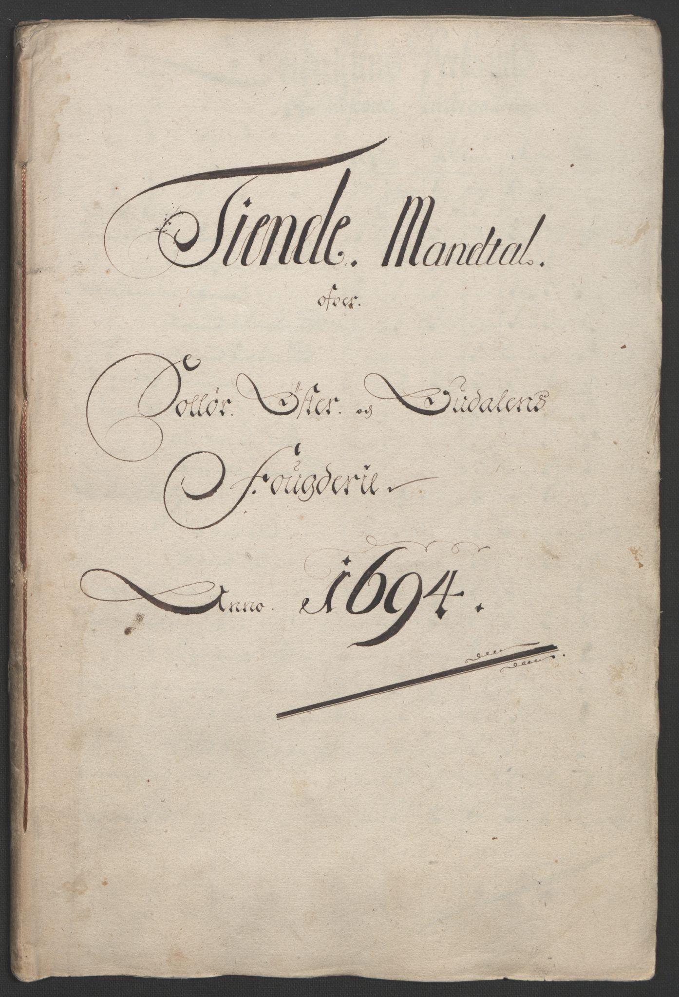 RA, Rentekammeret inntil 1814, Reviderte regnskaper, Fogderegnskap, R13/L0832: Fogderegnskap Solør, Odal og Østerdal, 1694, s. 138