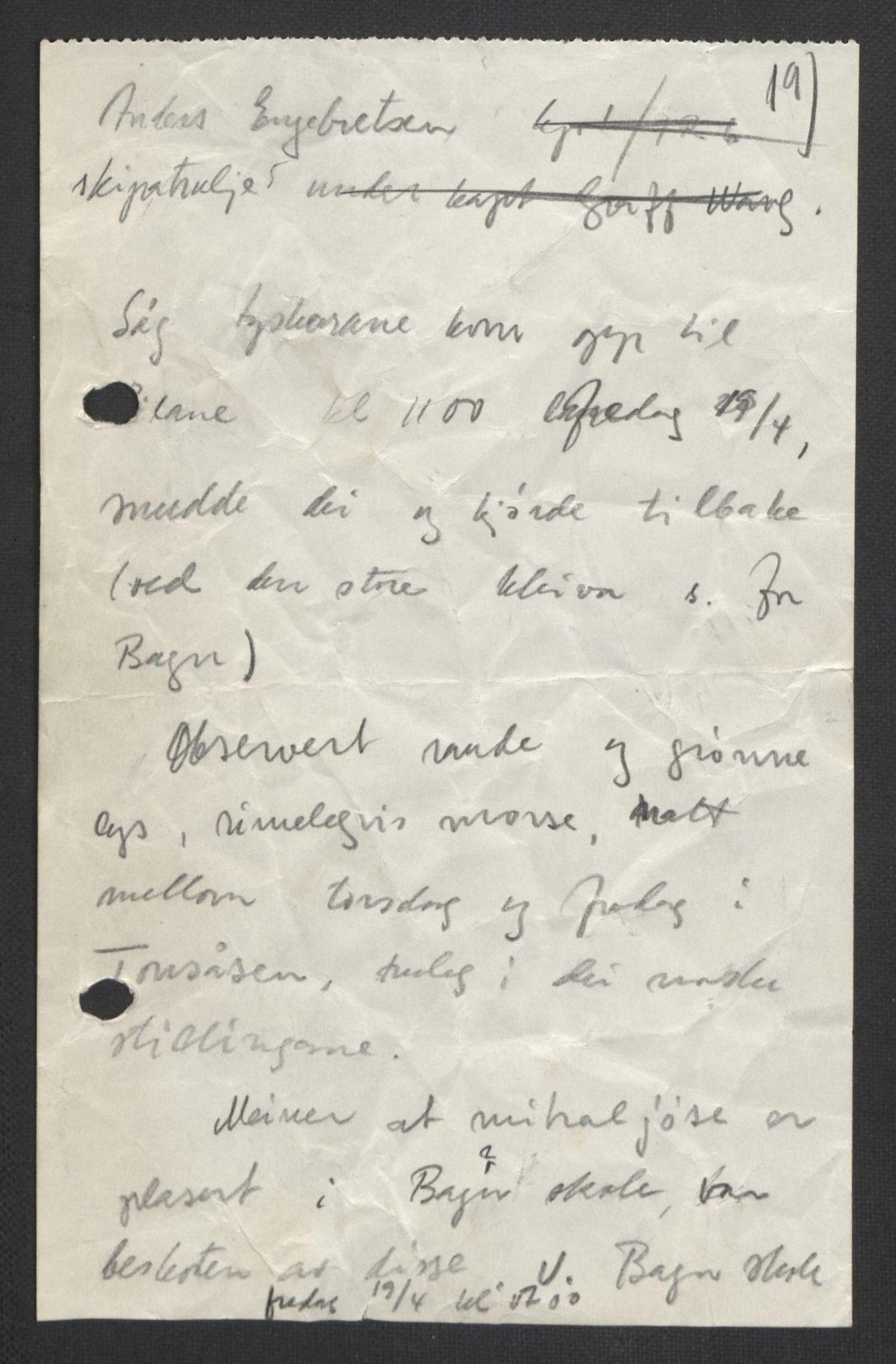 RA, Forsvaret, Forsvarets krigshistoriske avdeling, Y/Yb/L0104: II-C-11-430  -  4. Divisjon., 1940, s. 295